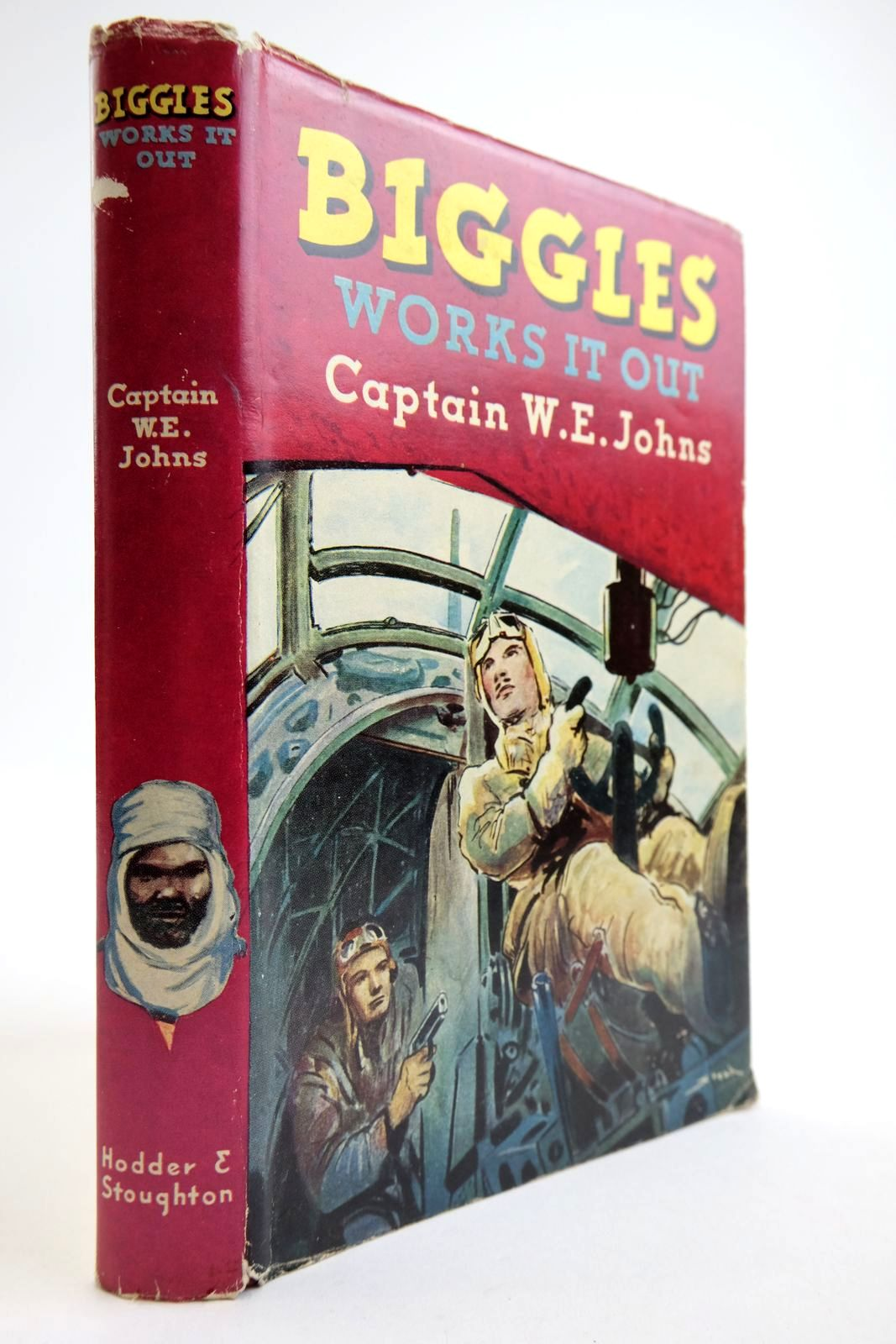 Photo of BIGGLES WORKS IT OUT written by Johns, W.E. illustrated by Stead,  published by Hodder & Stoughton (STOCK CODE: 2134117)  for sale by Stella & Rose's Books