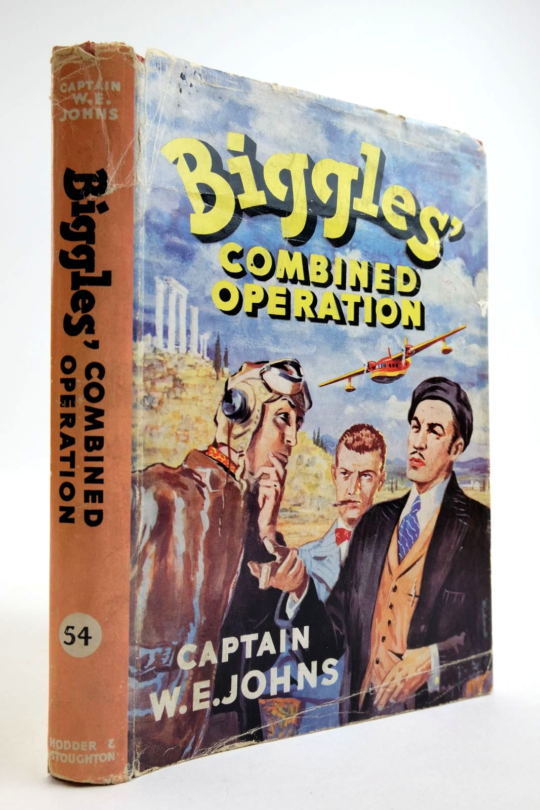 Photo of BIGGLES' COMBINED OPERATION written by Johns, W.E. illustrated by Stead,  published by Hodder & Stoughton (STOCK CODE: 2134118)  for sale by Stella & Rose's Books