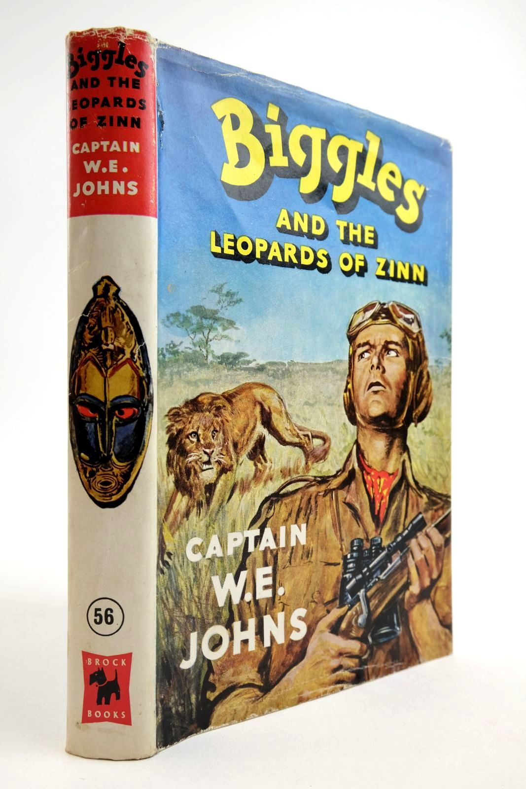 Photo of BIGGLES AND THE LEOPARDS OF ZINN written by Johns, W.E. illustrated by Stead, Leslie published by Brockhampton Press (STOCK CODE: 2134120)  for sale by Stella & Rose's Books