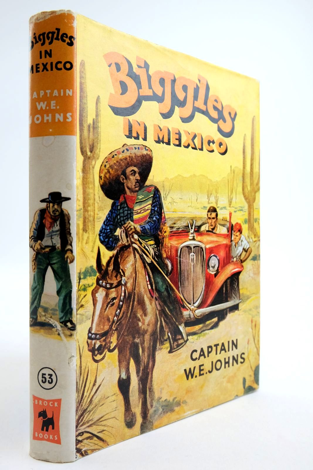 Photo of BIGGLES IN MEXICO written by Johns, W.E. illustrated by Stead, Leslie published by Brockhampton Press Ltd. (STOCK CODE: 2134121)  for sale by Stella & Rose's Books