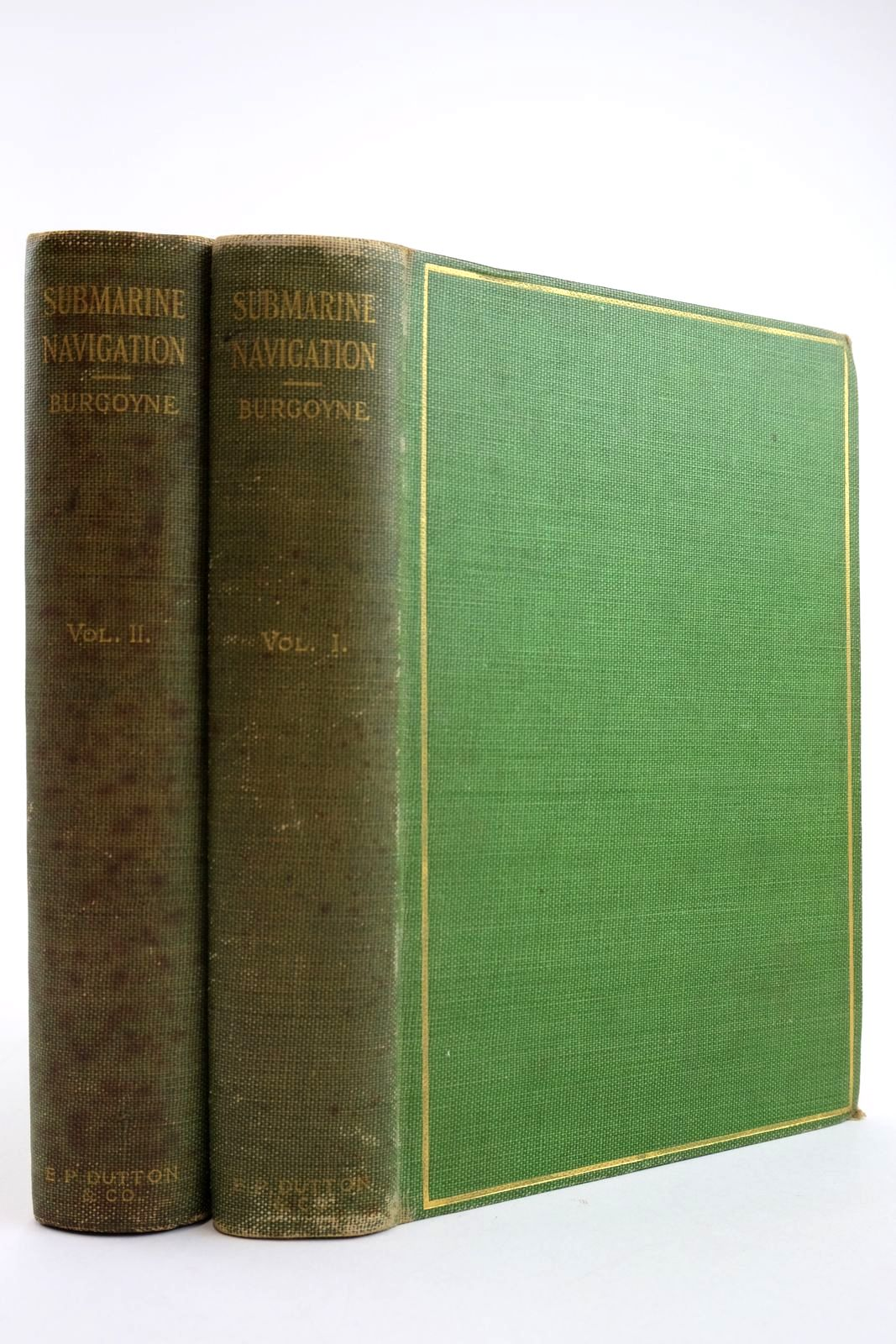 Photo of SUBMARINE NAVIGATION PAST AND PRESENT (2 VOLUMES)- Stock Number: 2134128