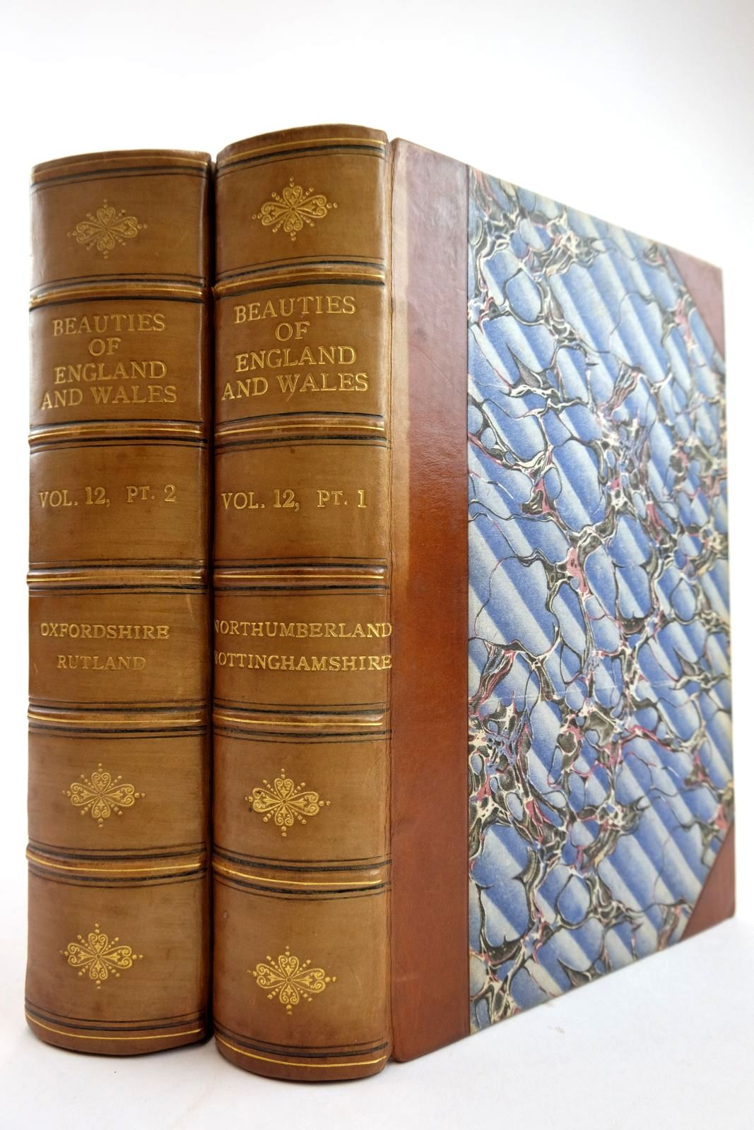 Photo of THE BEAUTIES OF ENGLAND AND WALES  VOL. XII PARTS I & II: NORTHUMBERLAND, NOTTINGHAMSHIRE, OXFORDSHIRE, RUTLAND written by Hodgson, J. Laird, F.C. Brewer, J.N. published by Vernor, Hood & Sharpe, Longman, Hurst, Rees And Orme, J. Cuthell, J. Harris, B. Crosby & Co., J.M. Richardson (STOCK CODE: 2134133)  for sale by Stella & Rose's Books
