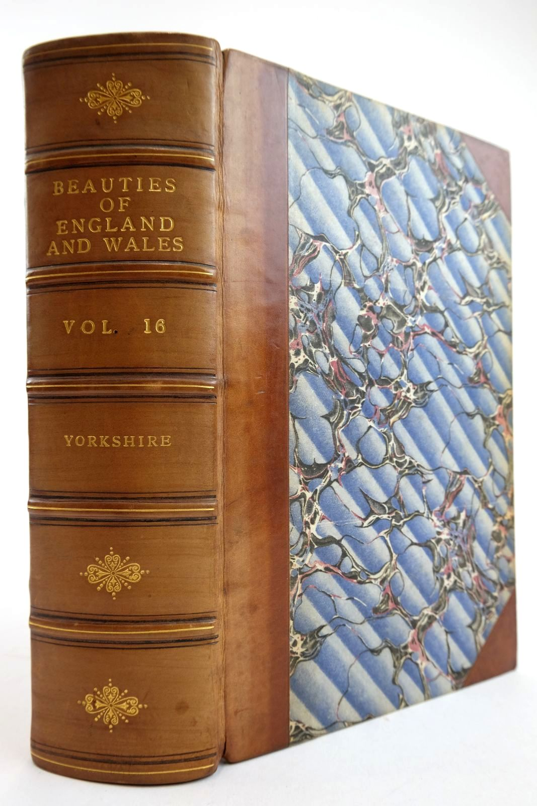 Photo of THE BEAUTIES OF ENGLAND AND WALES VOL. XVI: YORKSHIRE- Stock Number: 2134135