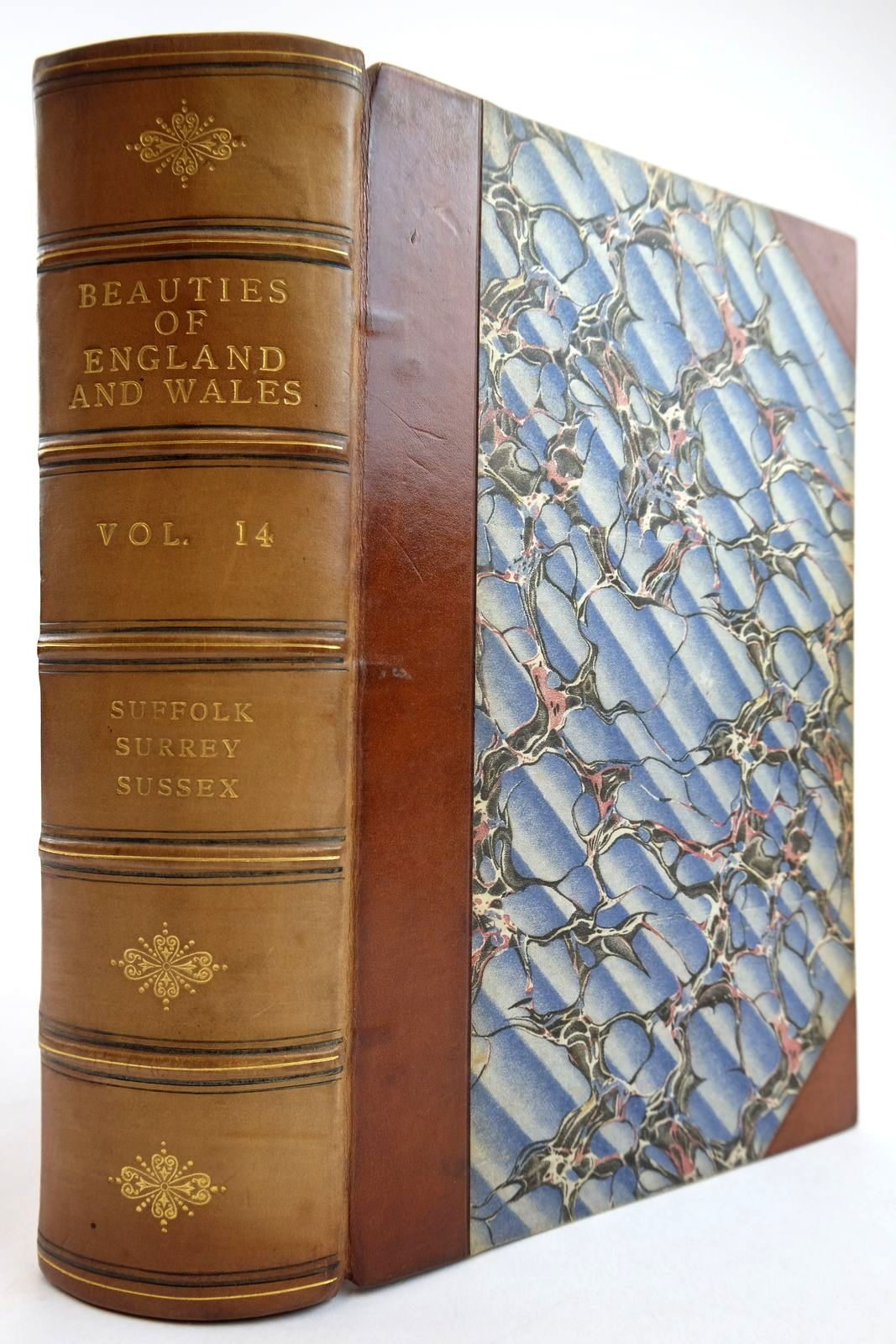 Photo of THE BEAUTIES OF ENGLAND AND WALES VOL. XIV: SUFFOLK, SURREY, SUSSEX- Stock Number: 2134136