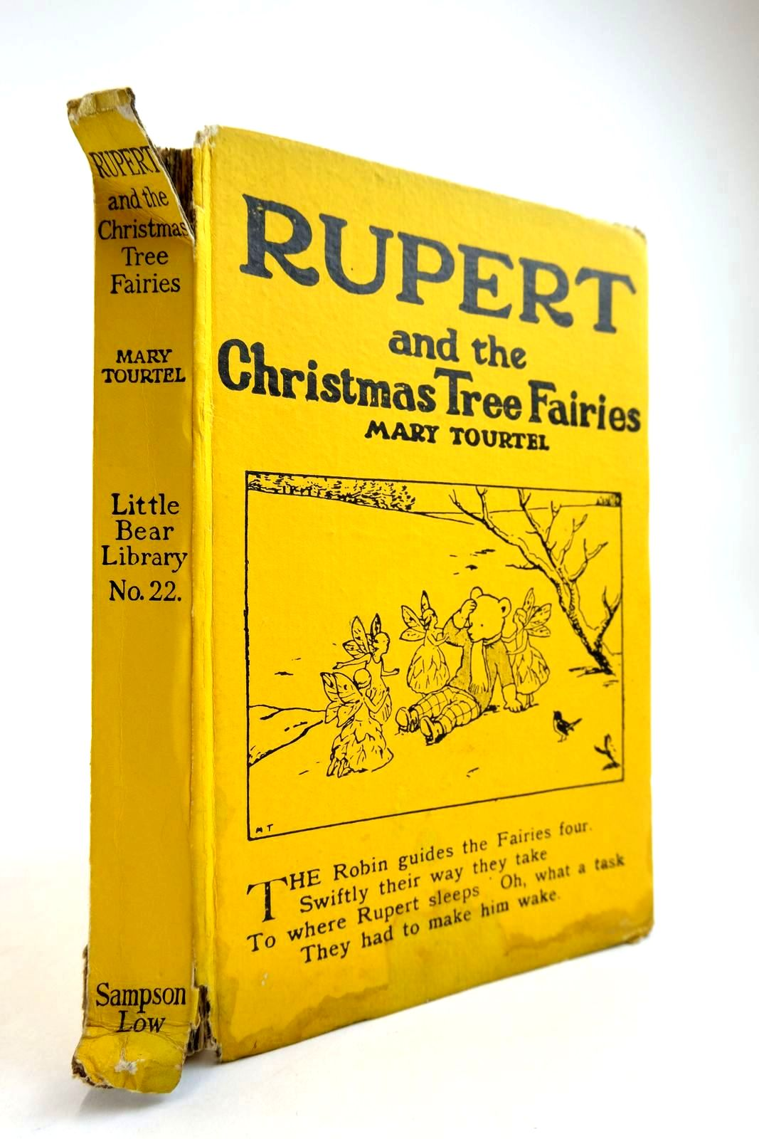 Photo of RUPERT AND THE CHRISTMAS TREE FAIRIES - RUPERT LITTLE BEAR LIBRARY No. 22 written by Tourtel, Mary illustrated by Tourtel, Mary published by Sampson Low, Marston & Co. Ltd. (STOCK CODE: 2134258)  for sale by Stella & Rose's Books