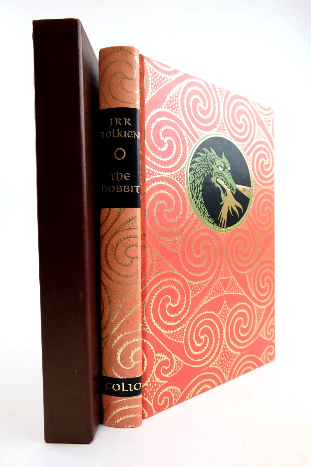 Photo of THE HOBBIT OR THERE AND BACK AGAIN written by Tolkien, J.R.R. illustrated by Fraser, Eric published by Folio Society (STOCK CODE: 2134272)  for sale by Stella & Rose's Books