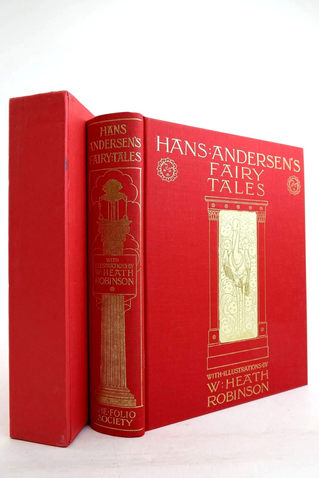Photo of HANS ANDERSEN'S FAIRY TALES written by Andersen, Hans Christian illustrated by Robinson, W. Heath published by Folio Society (STOCK CODE: 2134281)  for sale by Stella & Rose's Books