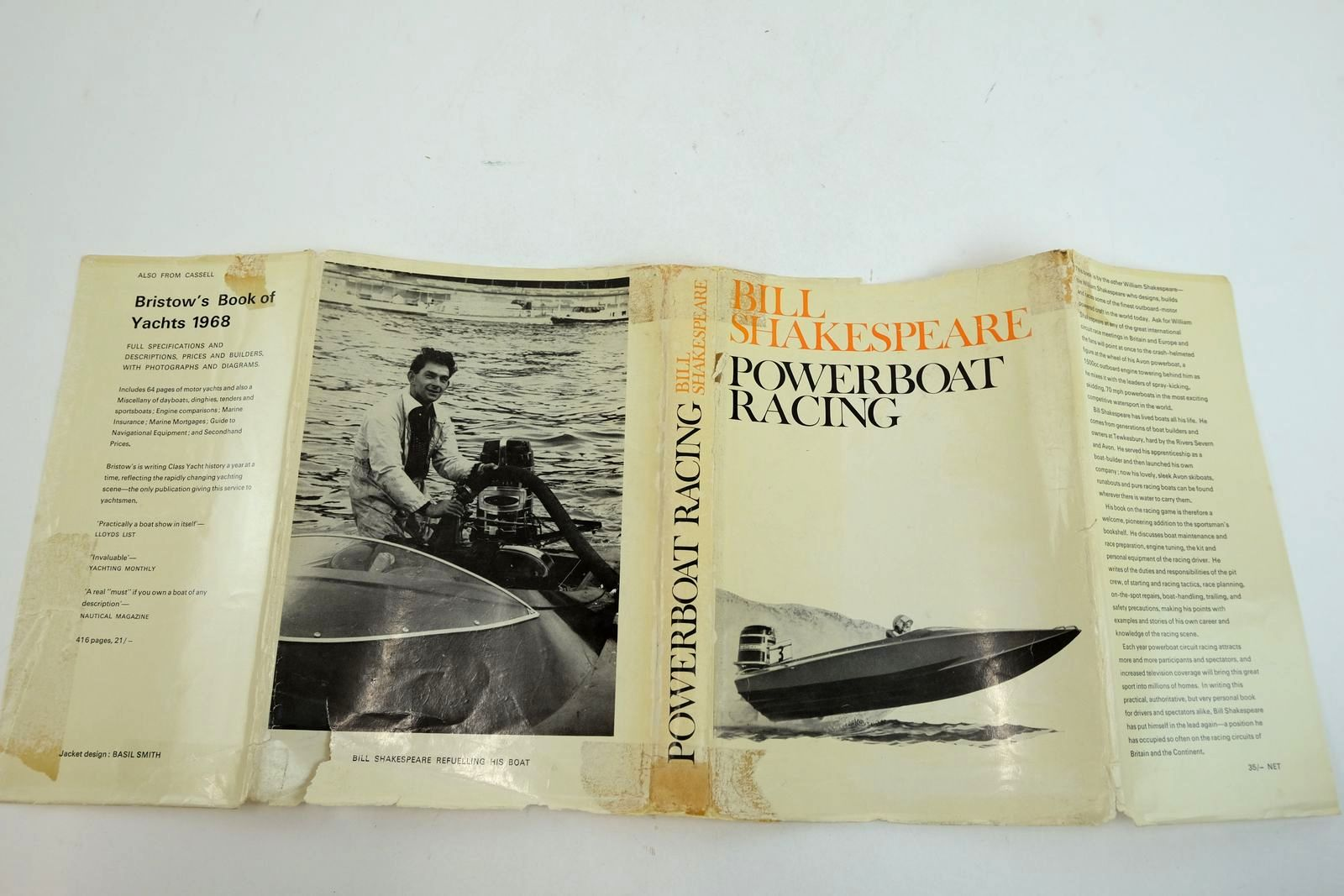 Photo of POWERBOAT RACING written by Shakespeare, Bill published by Cassell & Company Ltd (STOCK CODE: 2134324)  for sale by Stella & Rose's Books