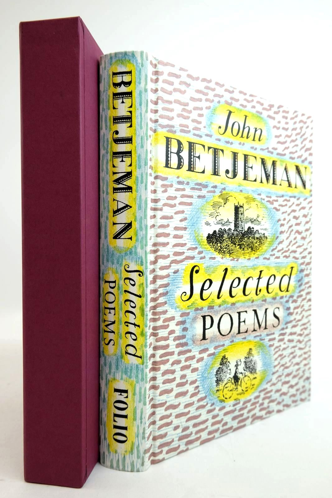 Photo of JOHN BETJEMAN SELECTED POEMS written by Betjeman, John Powers, Alan illustrated by Bailey, Peter published by Folio Society (STOCK CODE: 2134359)  for sale by Stella & Rose's Books