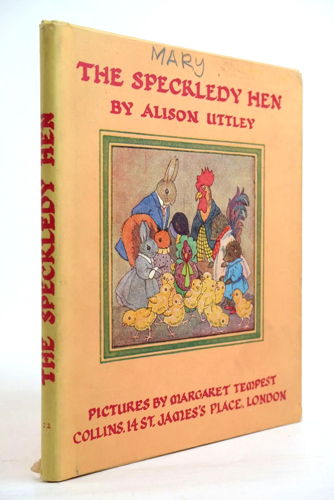 Photo of THE SPECKLEDY HEN written by Uttley, Alison illustrated by Tempest, Margaret published by Collins (STOCK CODE: 2134372)  for sale by Stella & Rose's Books
