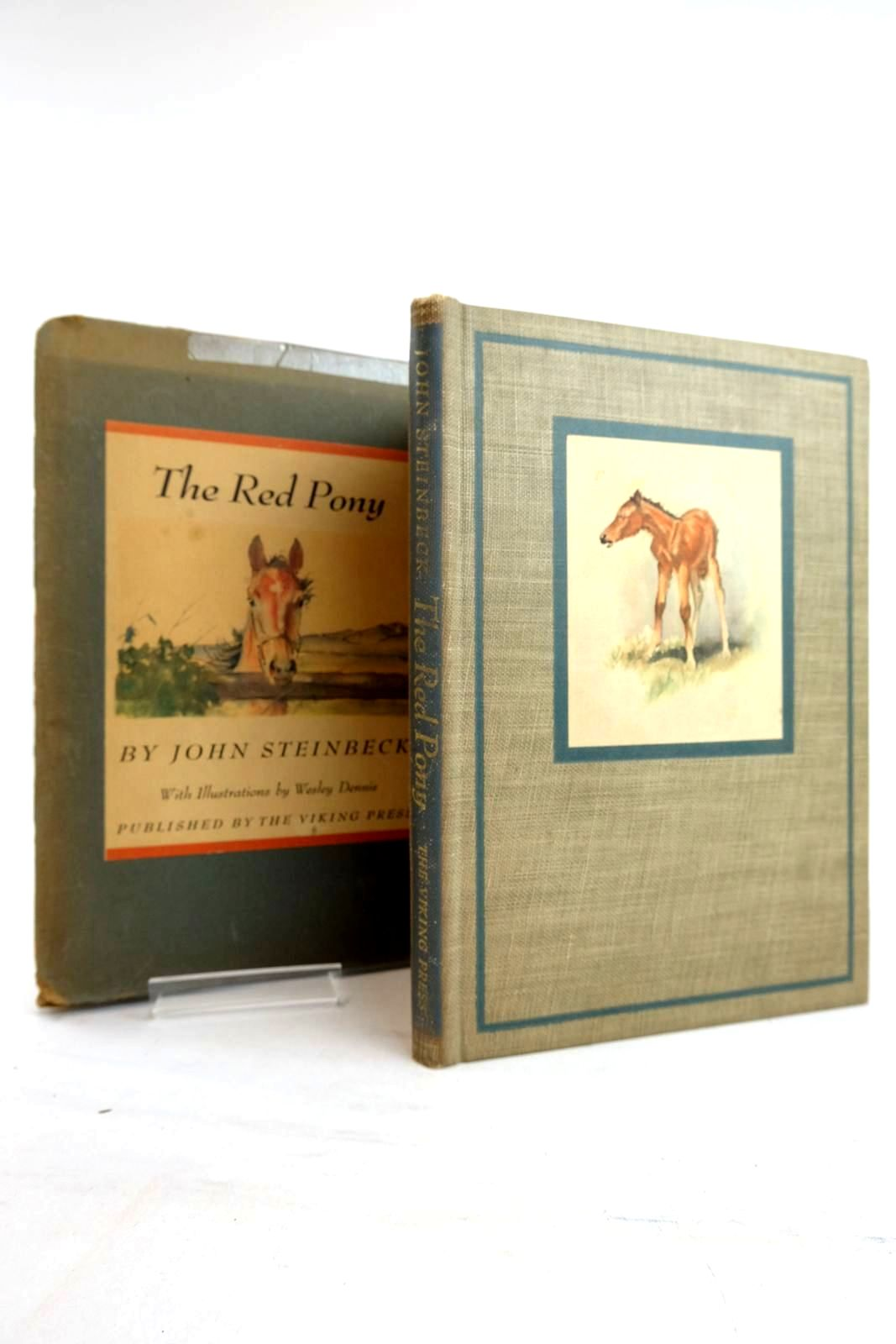 Photo of THE RED PONY written by Steinbeck, John illustrated by Dennis, Wesley published by The Viking Press (STOCK CODE: 2134380)  for sale by Stella & Rose's Books