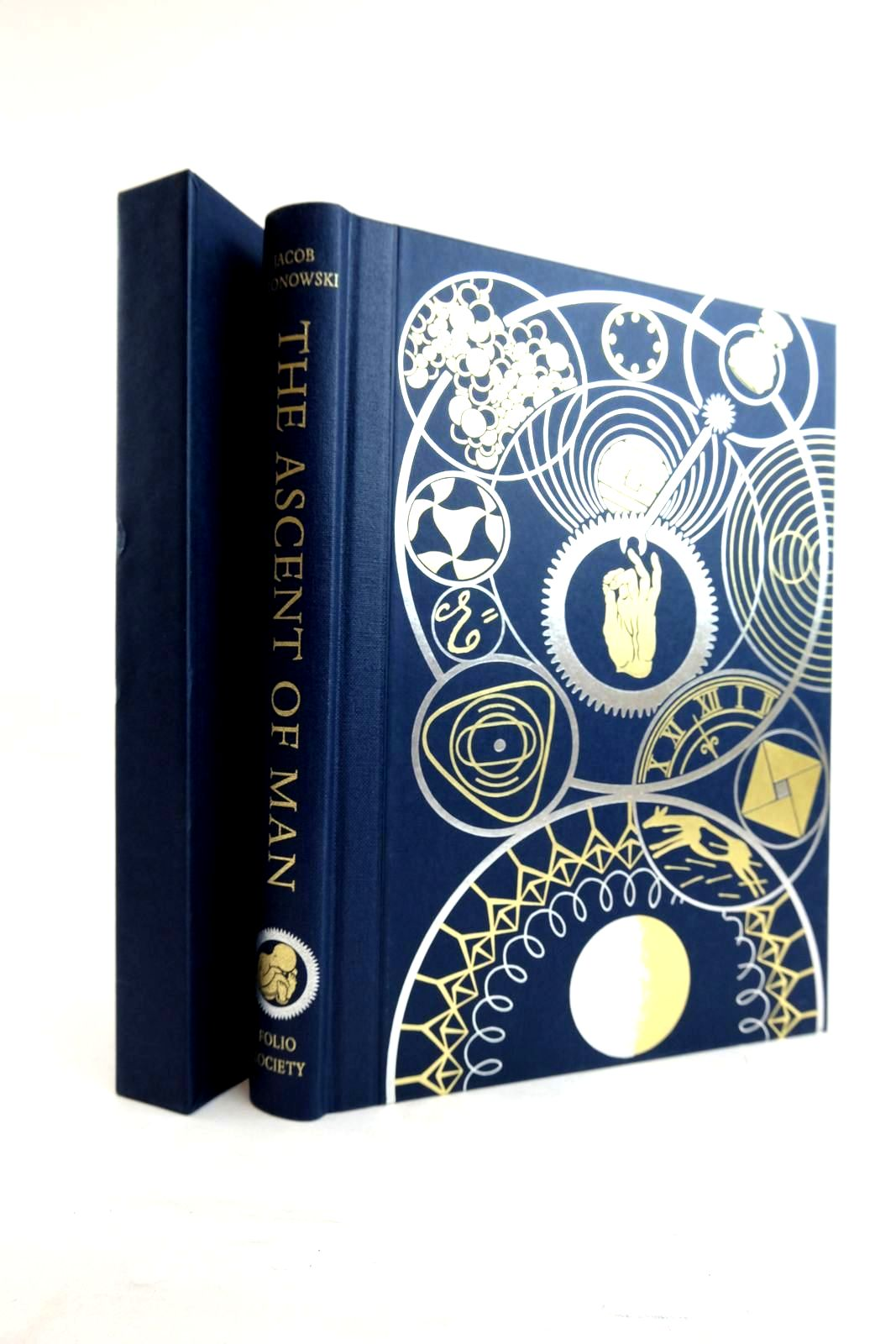 Photo of THE ASCENT OF MAN written by Bronowski, J. Bragg, Melvyn published by Folio Society (STOCK CODE: 2134390)  for sale by Stella & Rose's Books