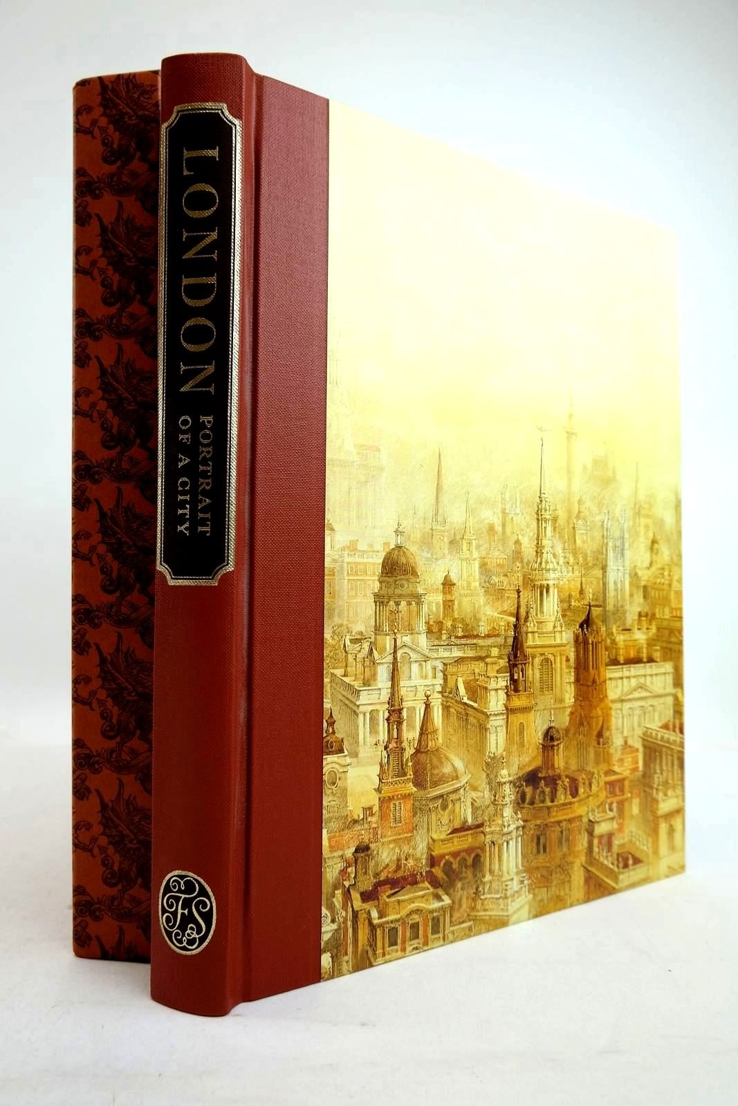 Photo of LONDON PORTRAIT OF A CITY written by Hudson, Roger published by Folio Society (STOCK CODE: 2134393)  for sale by Stella & Rose's Books