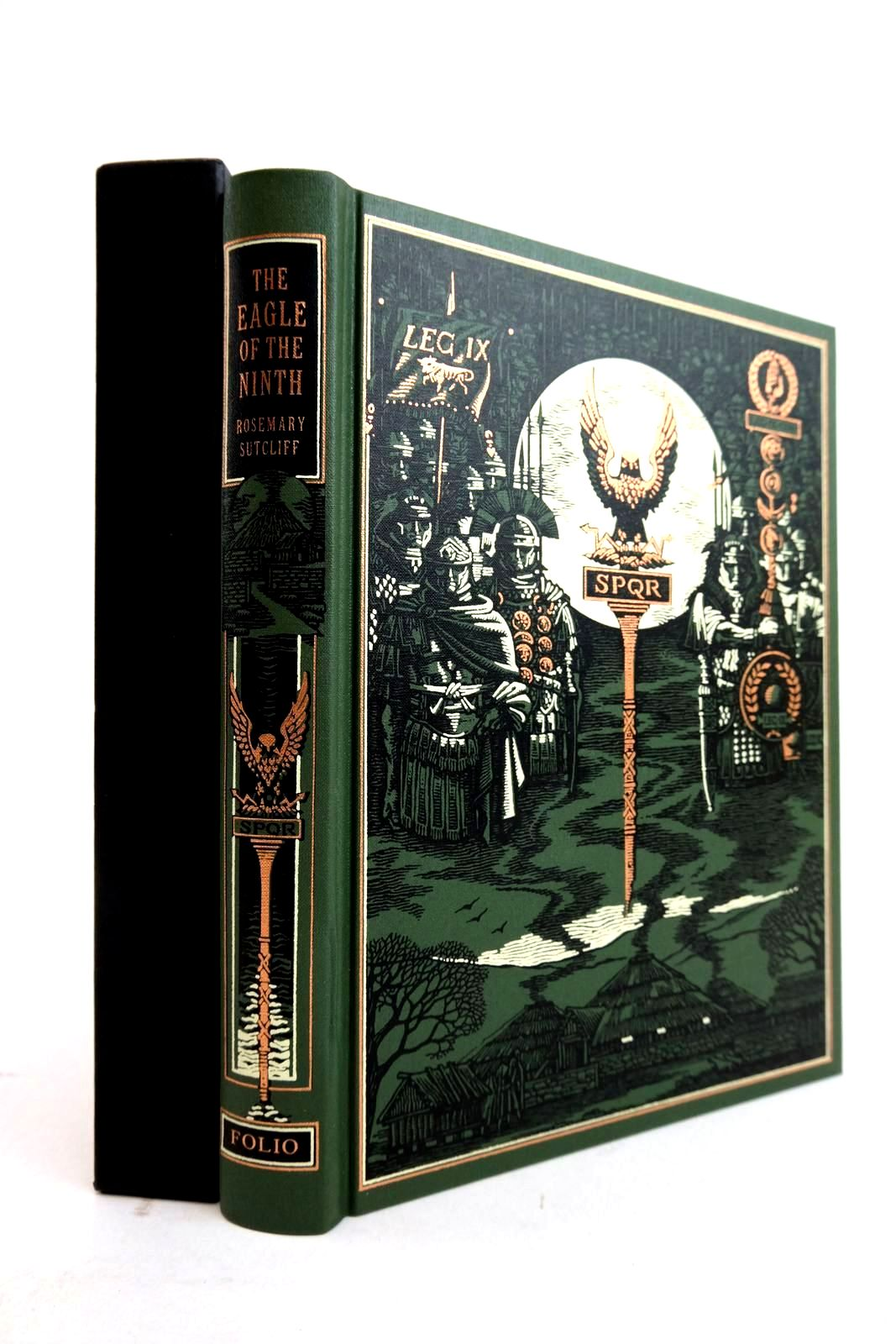 Photo of THE EAGLE OF THE NINTH written by Sutcliff, Rosemary Crossley-Holland, Kevin illustrated by Pisarev, Roman published by Folio Society (STOCK CODE: 2134415)  for sale by Stella & Rose's Books