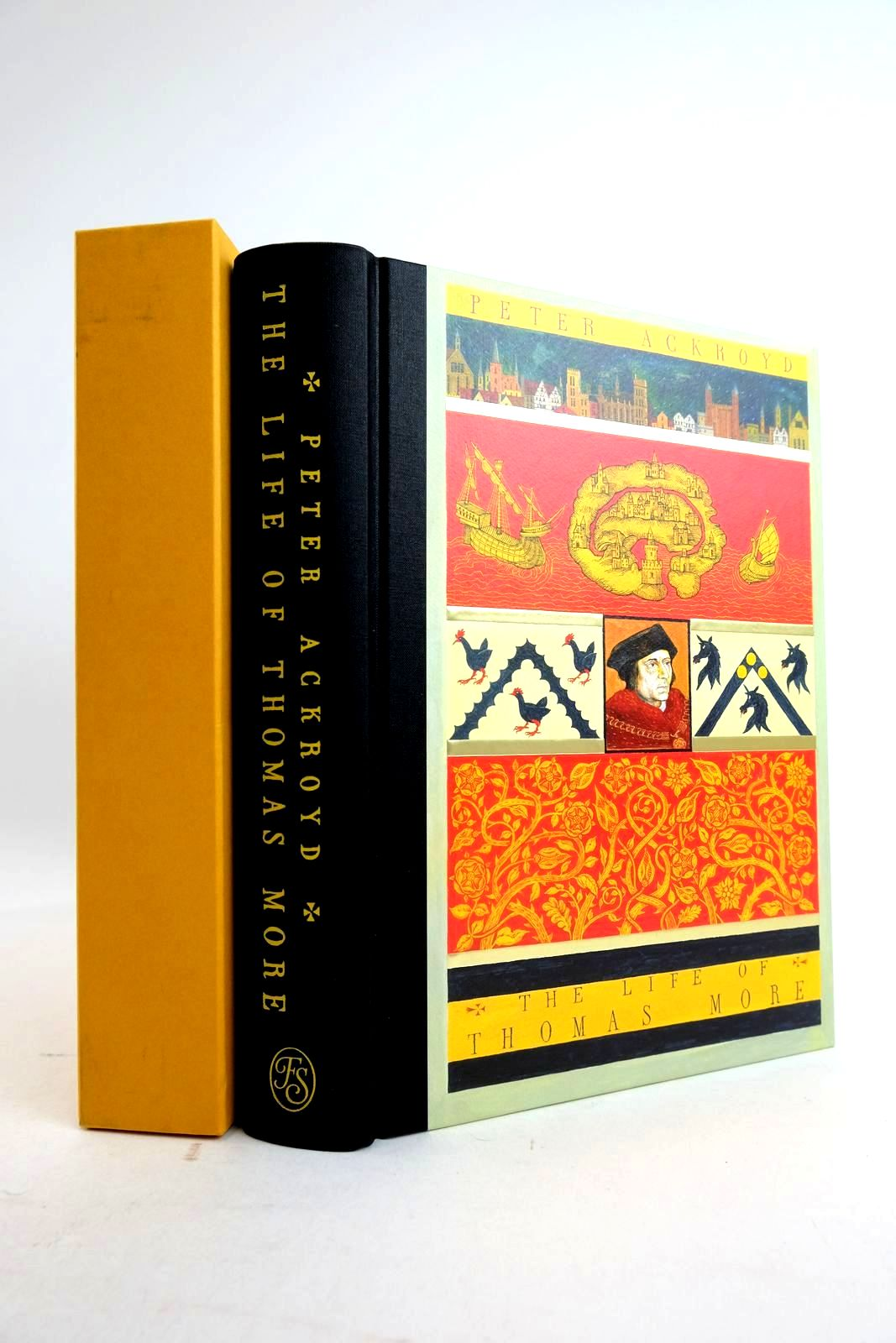 Photo of THE LIFE OF THOMAS MORE written by Ackroyd, Peter Macculloch, Diarmaid published by Folio Society (STOCK CODE: 2134425)  for sale by Stella & Rose's Books