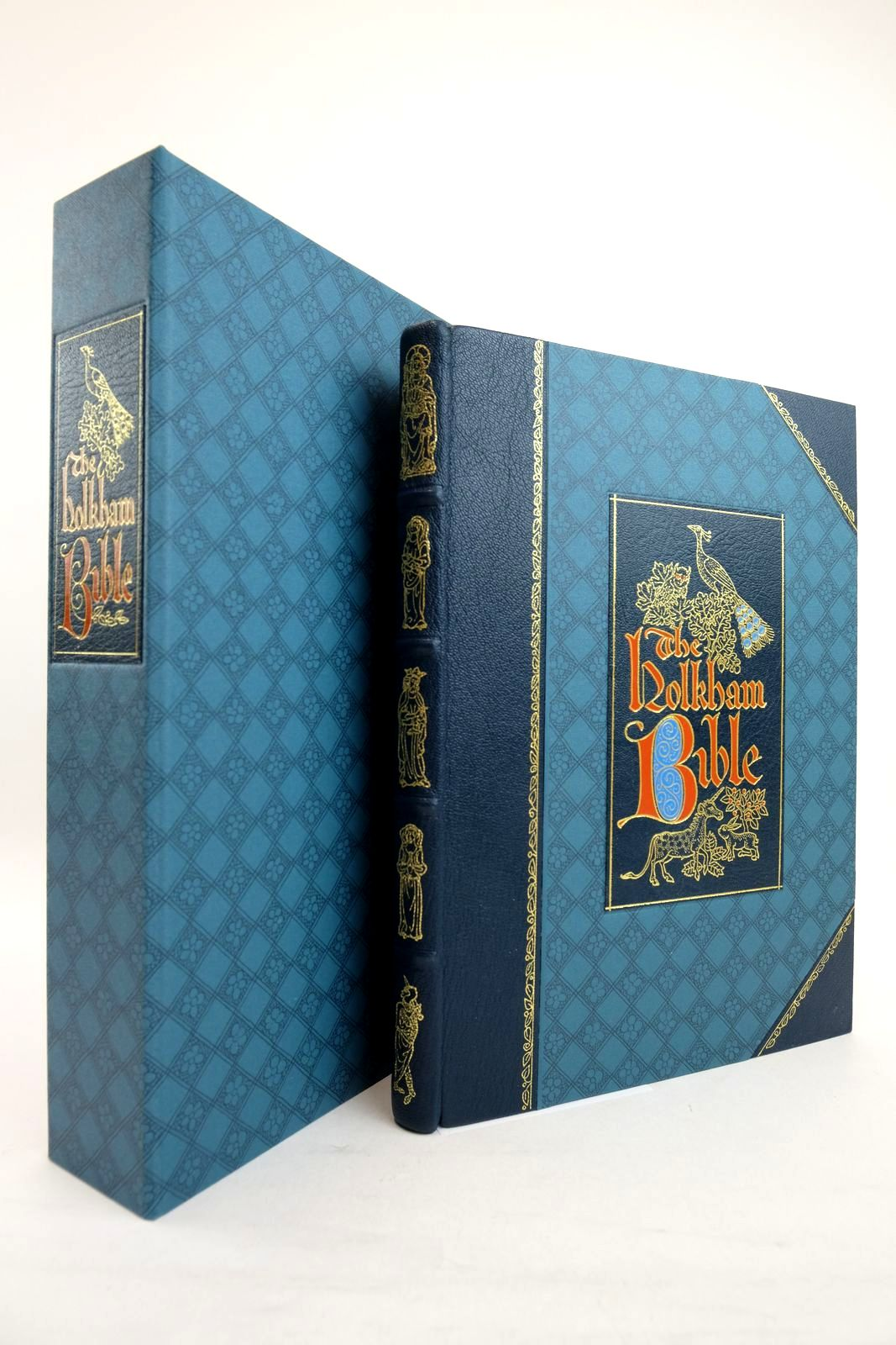 Photo of THE HOLKHAM BIBLE written by Brown, Michelle P. published by Folio Society (STOCK CODE: 2134457)  for sale by Stella & Rose's Books