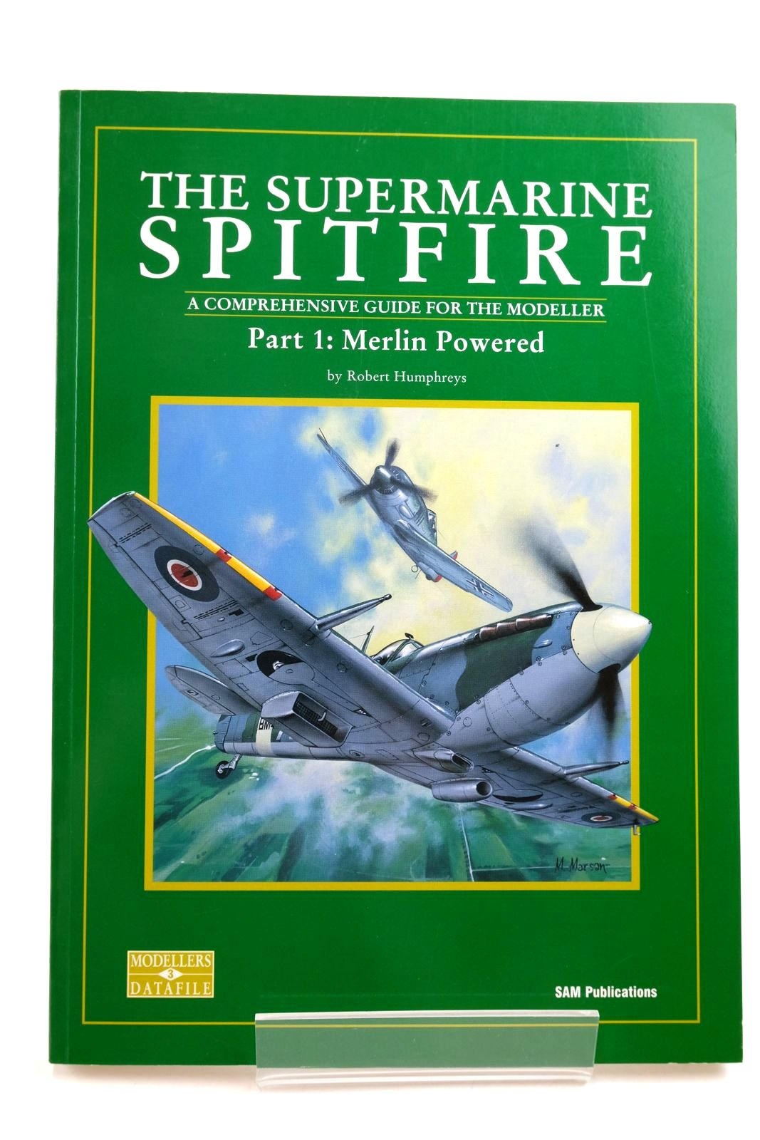 Photo of THE SUPERMARINE SPITFIRE: A COMPREHENSIVE GUIDE FOR THE MODELLER PART 1: MERLIN POWERED written by Humphreys, Robert published by Sam Publications (STOCK CODE: 2134486)  for sale by Stella & Rose's Books