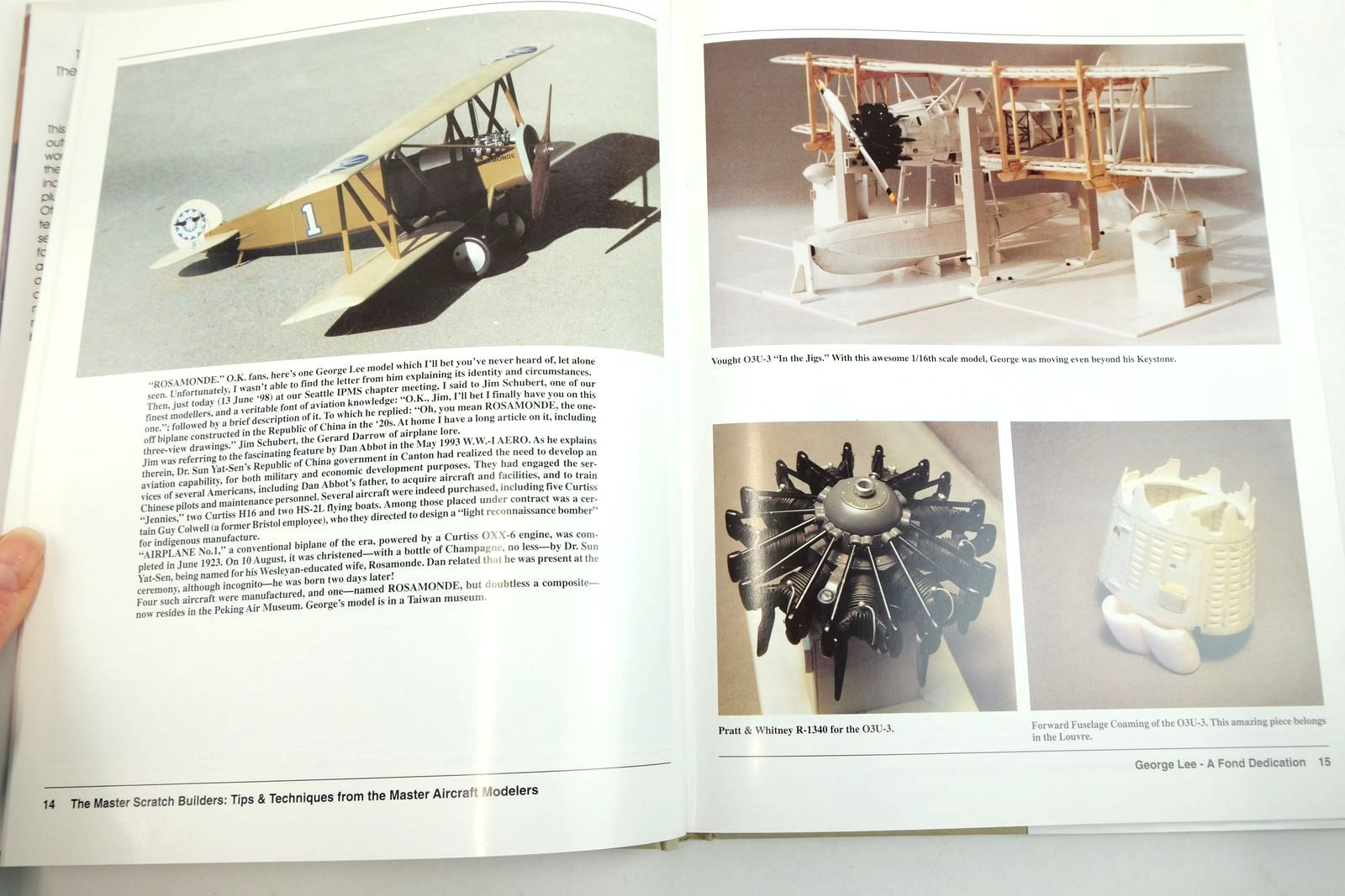 Photo of THE MASTER SCRATCHBUILDERS: THEIR AIRCRAFT MODELS & TECHNIQUES written by Alcorn, John Clark, Alan Cooke, Peter et al, published by Schiffer Military History (STOCK CODE: 2134504)  for sale by Stella & Rose's Books