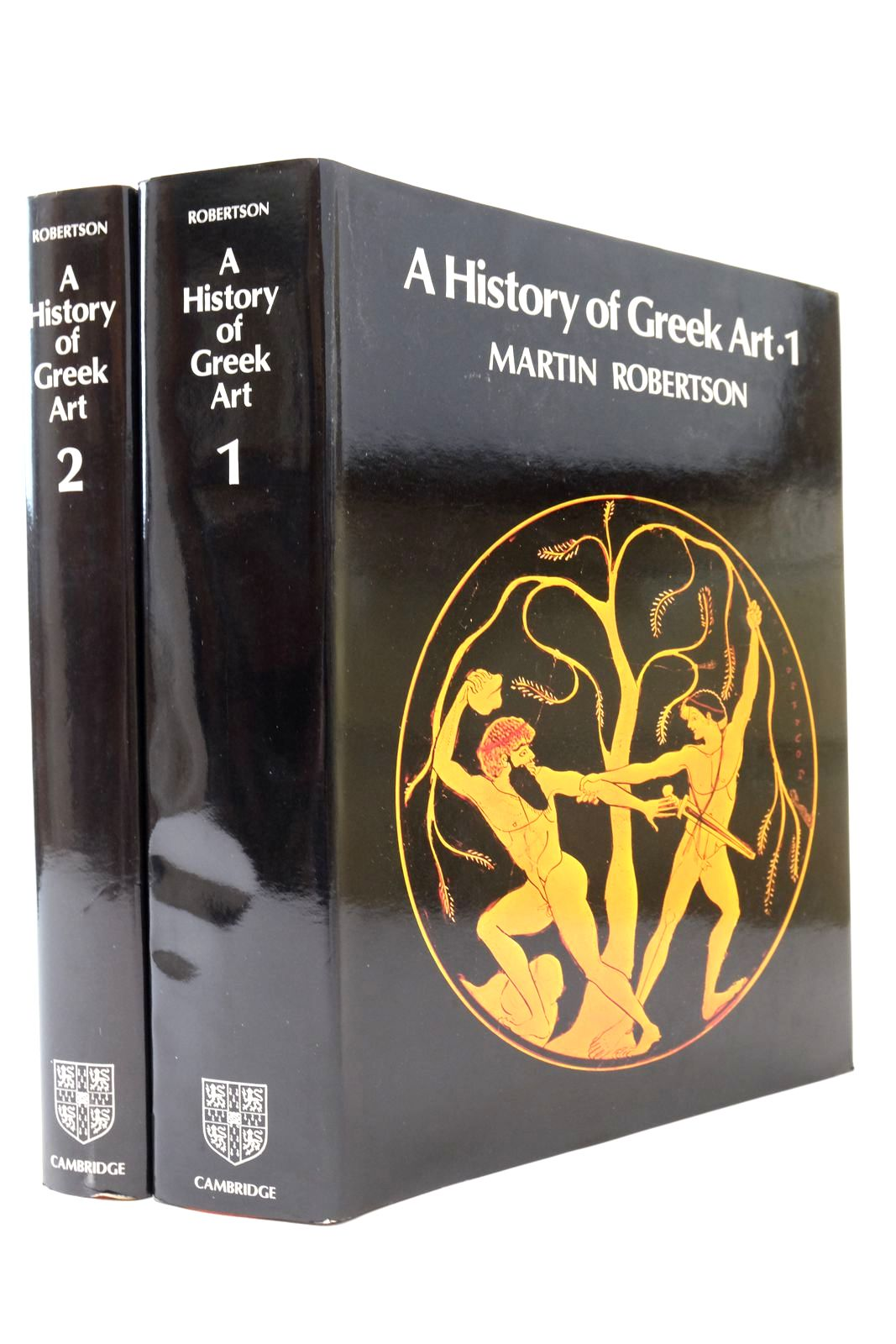 Photo of A HISTORY OF GREEK ART (2 VOLUMES) written by Robertson, Martin published by Cambridge University Press (STOCK CODE: 2134505)  for sale by Stella & Rose's Books