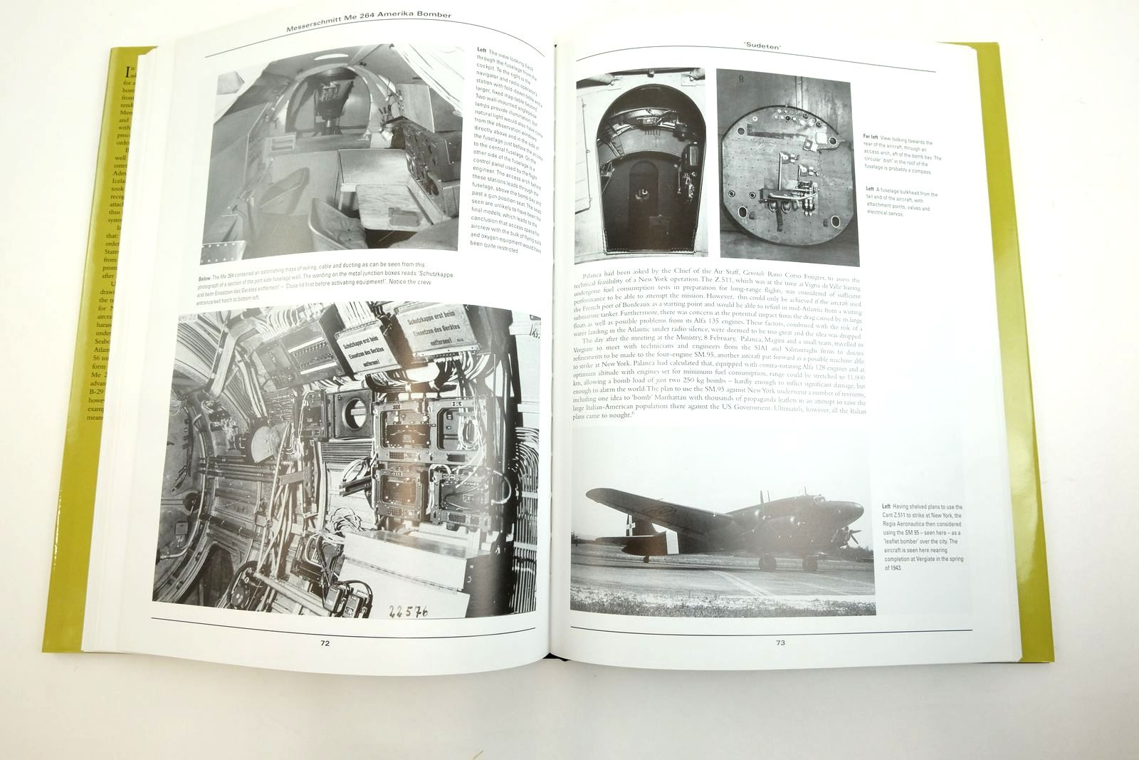 Photo of MESSERSCHMITT ME264 AMERIKA BOMBER written by Forsyth, Robert Creek, E.J. published by Classic Publications (STOCK CODE: 2134507)  for sale by Stella & Rose's Books
