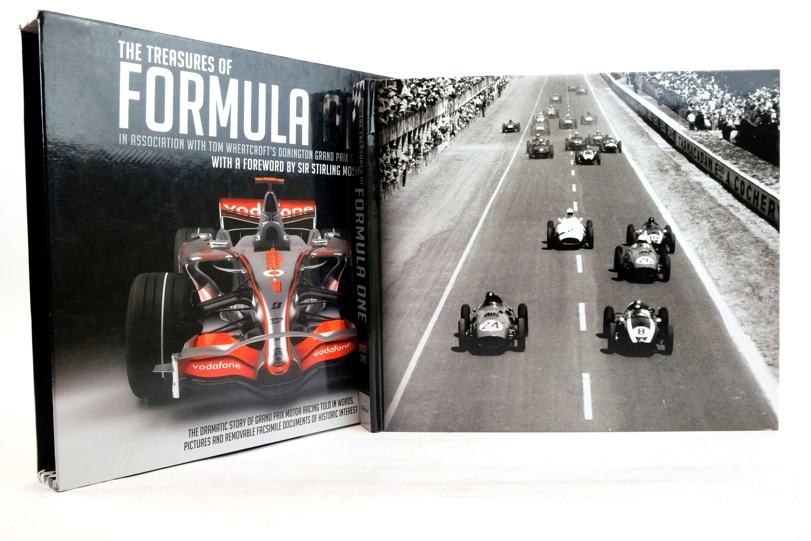 Photo of THE TREASURES OF FORMULA ONE IN ASSOCIATION WITH TOM WHEATCROFT'S DONINGTON GRAND PRIX COLLECTION written by Jones, Bruce published by Carlton Books Limited (STOCK CODE: 2134544)  for sale by Stella & Rose's Books