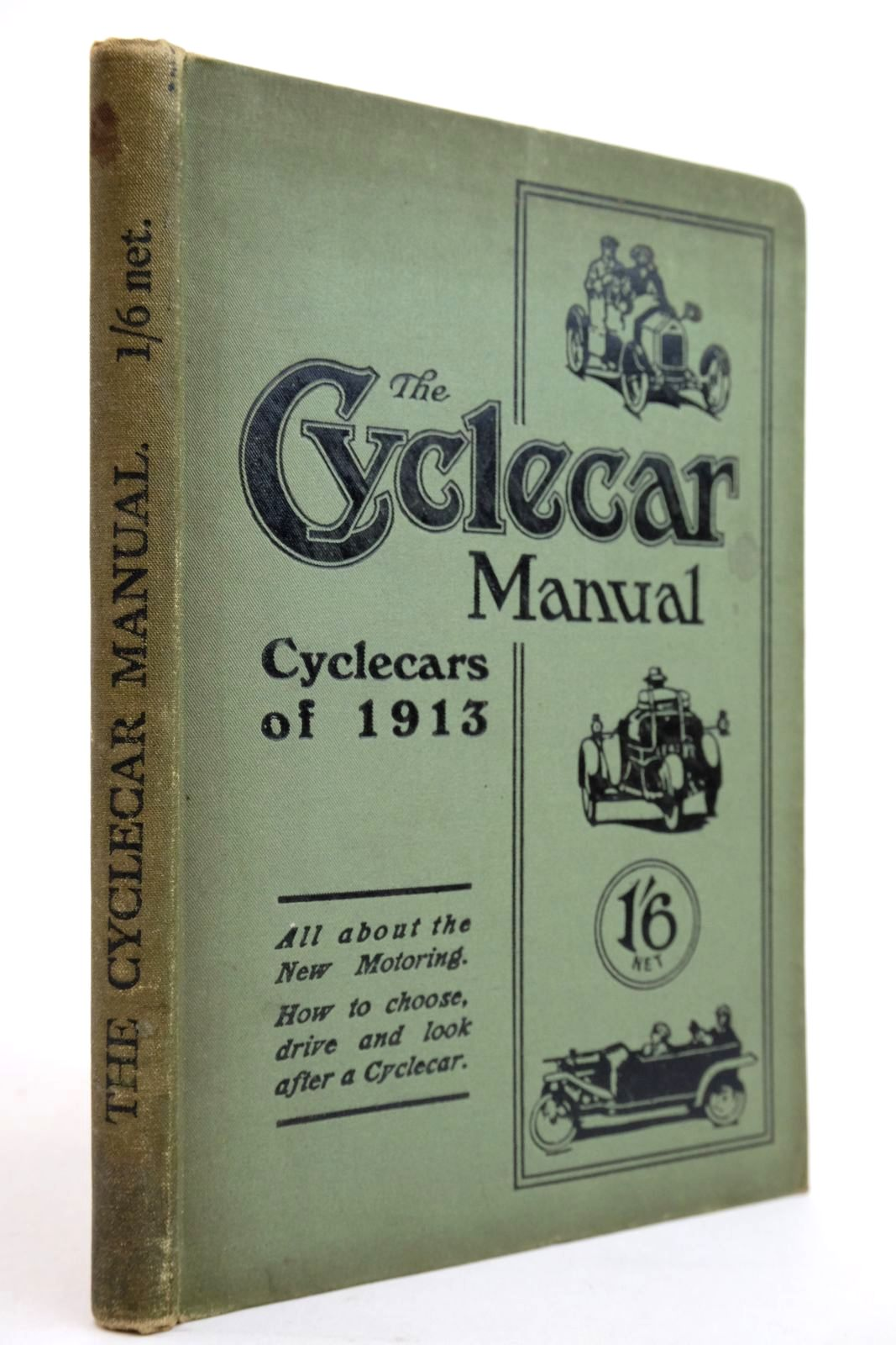 Photo of THE CYCLECAR MANUAL CYCLECARS OF 1913- Stock Number: 2134566