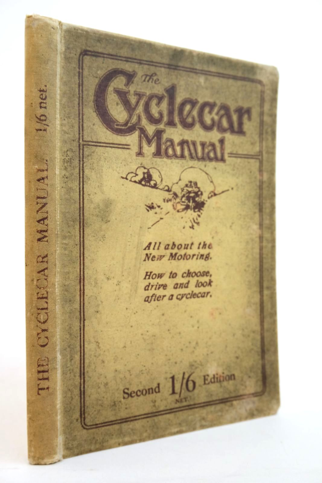 Photo of THE CYCLECAR MANUAL- Stock Number: 2134567