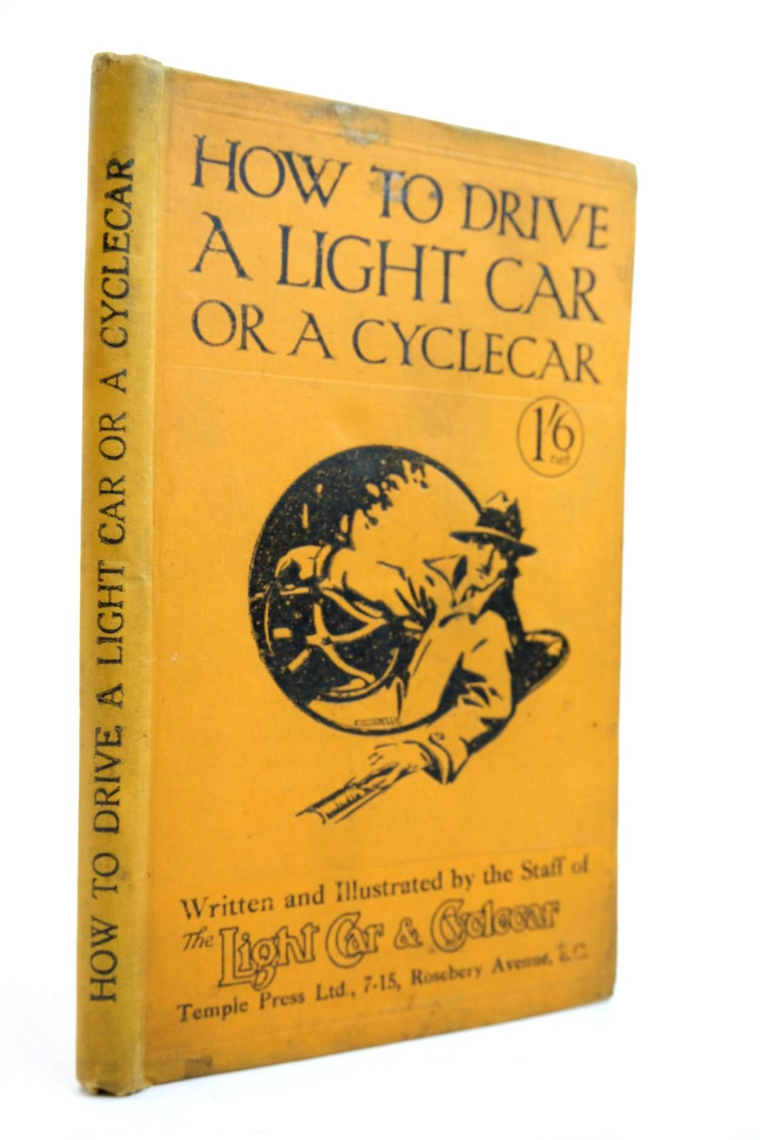 Photo of HOW TO DRIVE A LIGHT CAR OR A CYCLECAR- Stock Number: 2134568