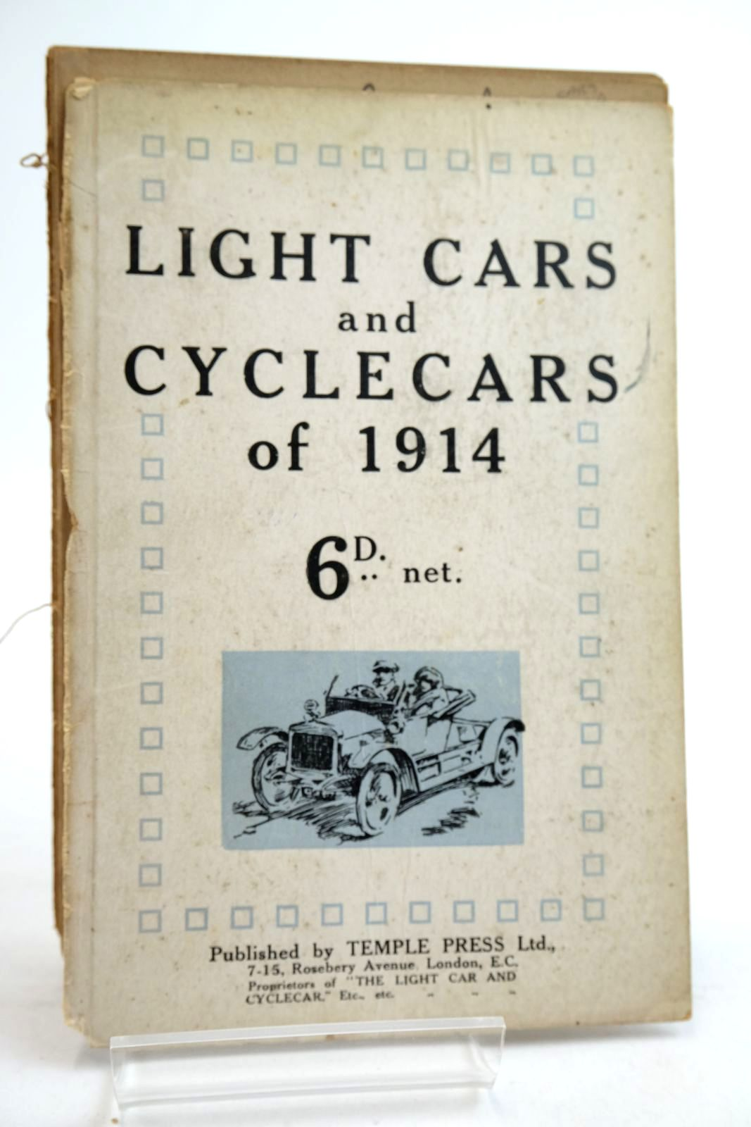 Photo of LIGHT CARS AND CYCLECARS OF 1914- Stock Number: 2134615