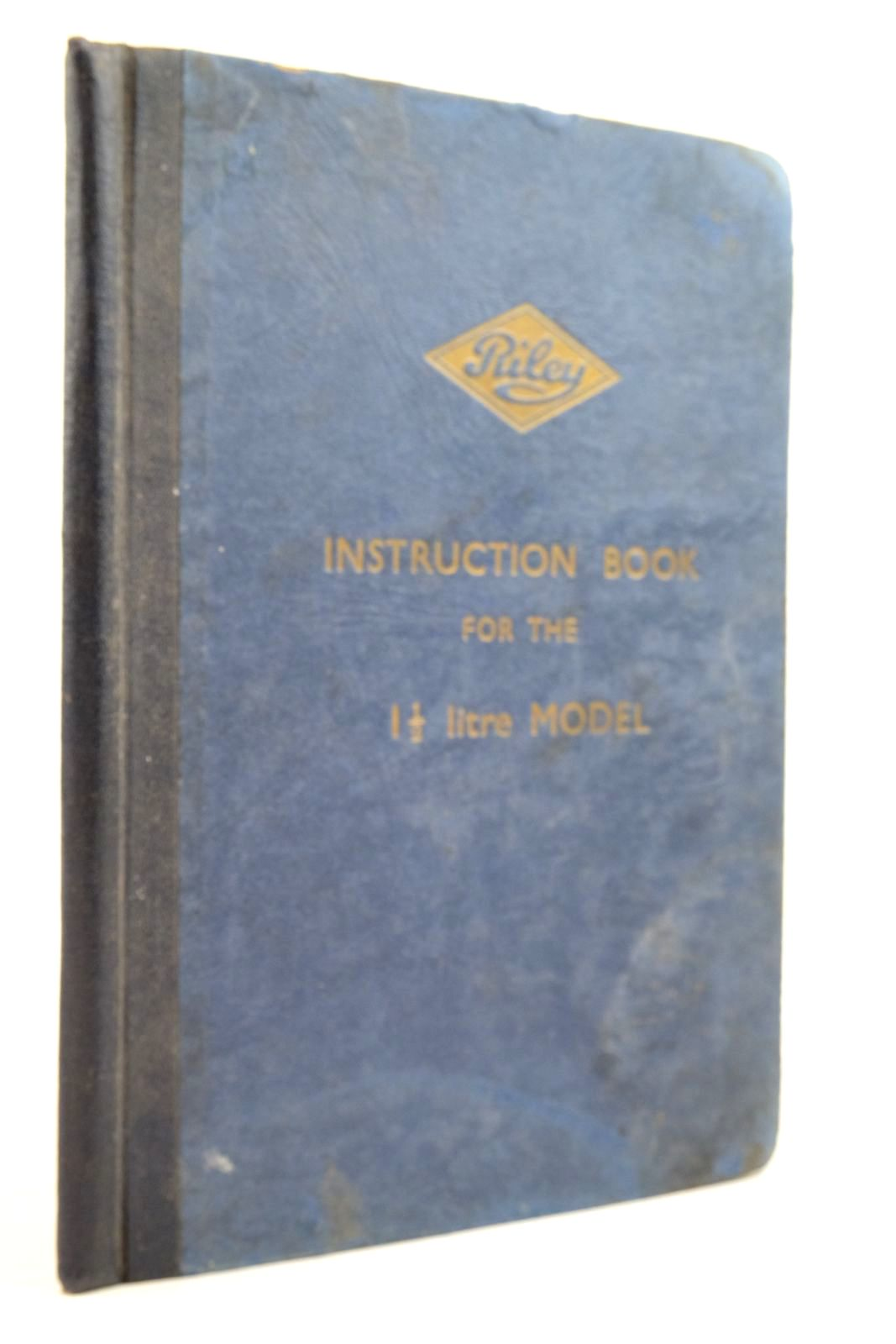 Photo of RILEY INSTRUCTION BOOK FOR THE 1 1/2 LITRE MODEL- Stock Number: 2134622