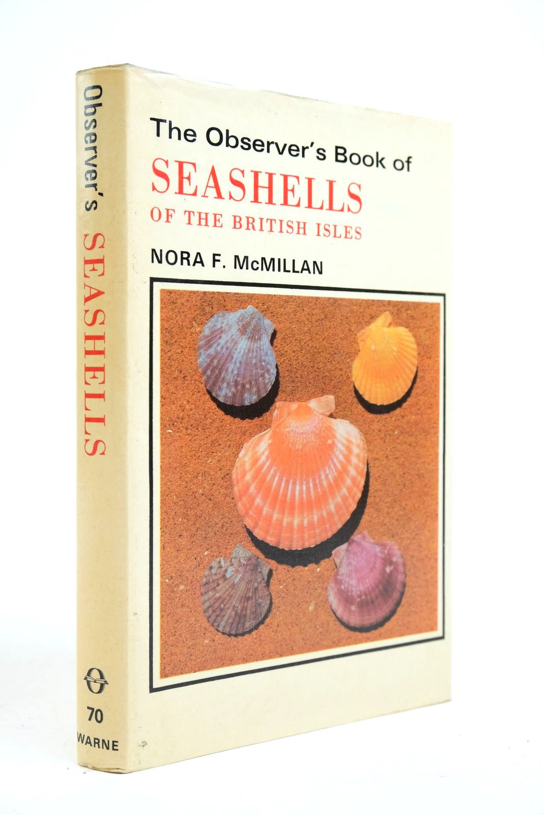 Photo of THE OBSERVER'S BOOK OF SEASHELLS OF THE BRITISH ISLES- Stock Number: 2134659