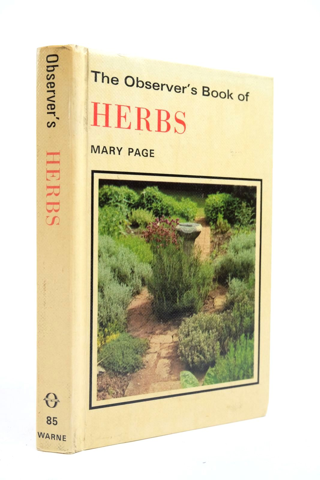 Photo of THE OBSERVER'S BOOK OF HERBS written by Page, Mary illustrated by Barber, Norman published by Frederick Warne & Co Ltd. (STOCK CODE: 2134662)  for sale by Stella & Rose's Books