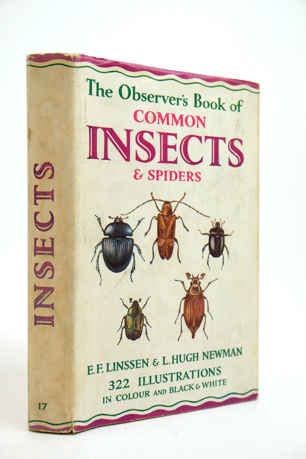 Photo of THE OBSERVER'S BOOK OF COMMON INSECTS AND SPIDERS written by Linssen, E.F. Newman, L. Hugh published by Frederick Warne & Co Ltd. (STOCK CODE: 2134663)  for sale by Stella & Rose's Books