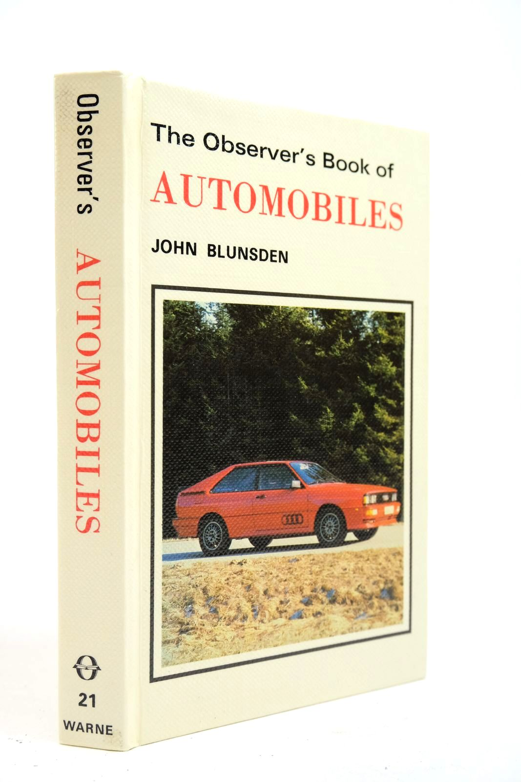 Photo of THE OBSERVER'S BOOK OF AUTOMOBILES- Stock Number: 2134665