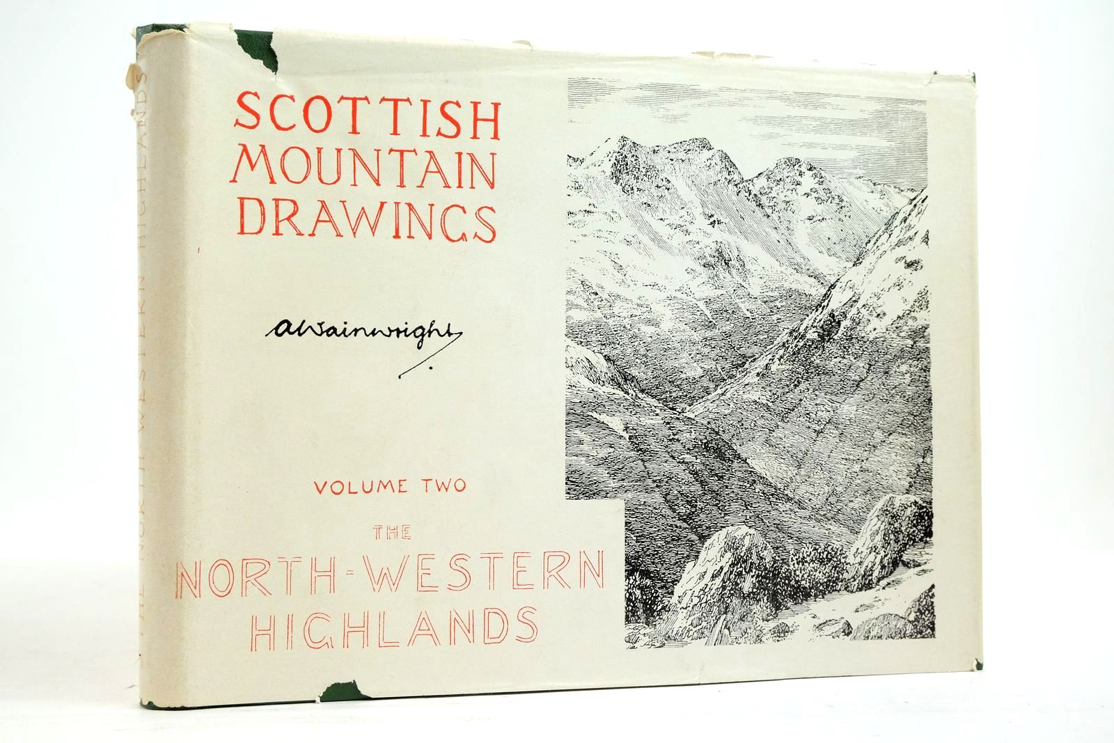 Photo of SCOTTISH MOUNTAIN DRAWINGS VOLUME TWO THE NORTH-WESTERN HIGHLANDS- Stock Number: 2134670