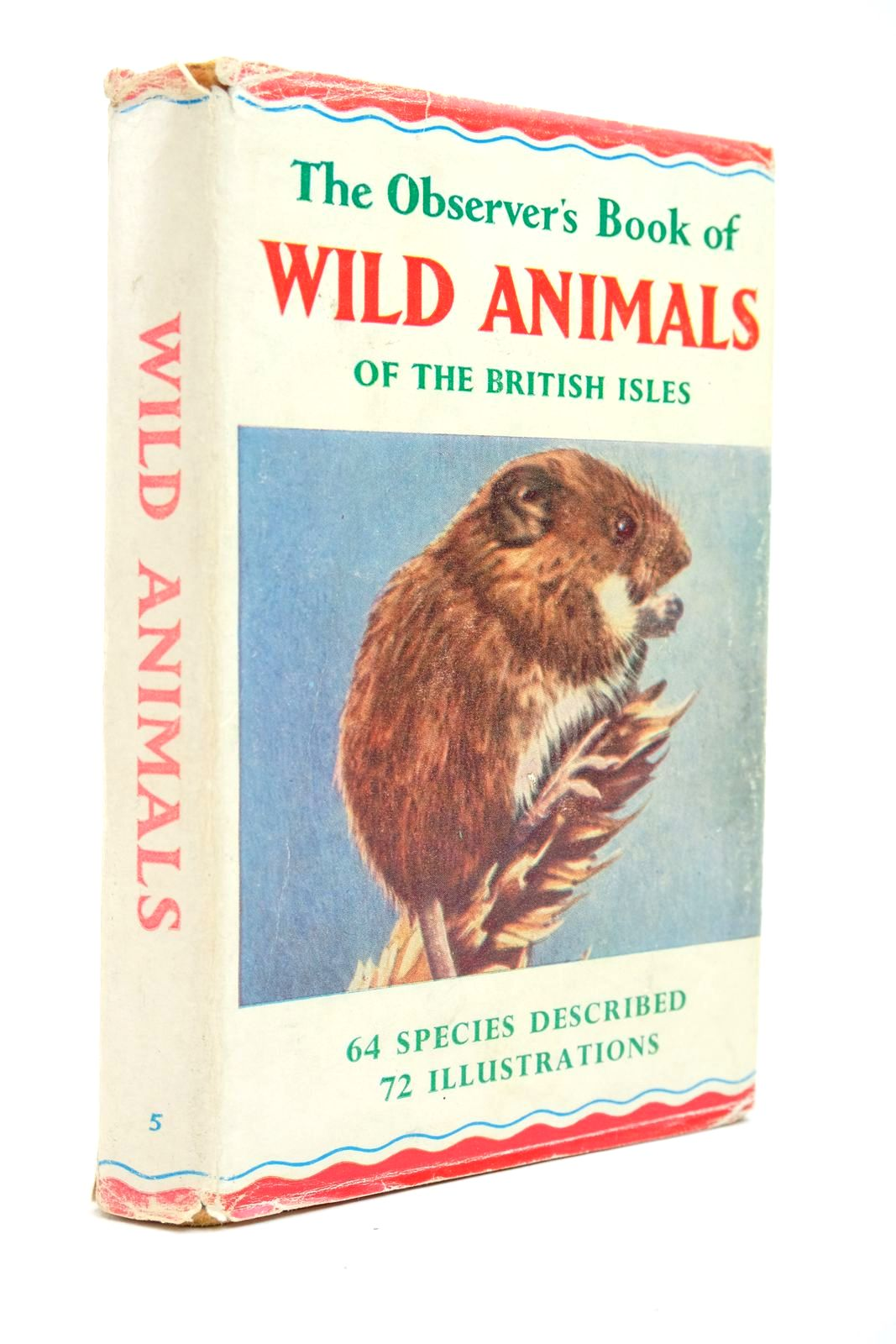 Photo of THE OBSERVER'S BOOK OF WILD ANIMALS OF THE BRITISH ISLES written by Stokoe, W.J. Burton, Maurice published by Frederick Warne & Co Ltd. (STOCK CODE: 2134675)  for sale by Stella & Rose's Books