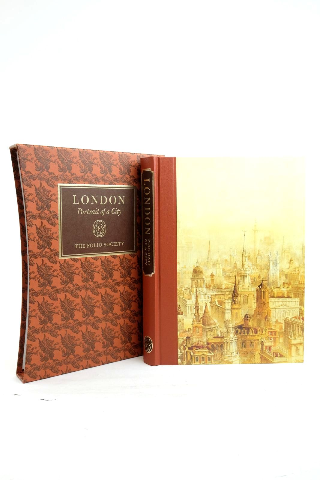 Photo of LONDON PORTRAIT OF A CITY written by Hudson, Roger published by Folio Society (STOCK CODE: 2134689)  for sale by Stella & Rose's Books