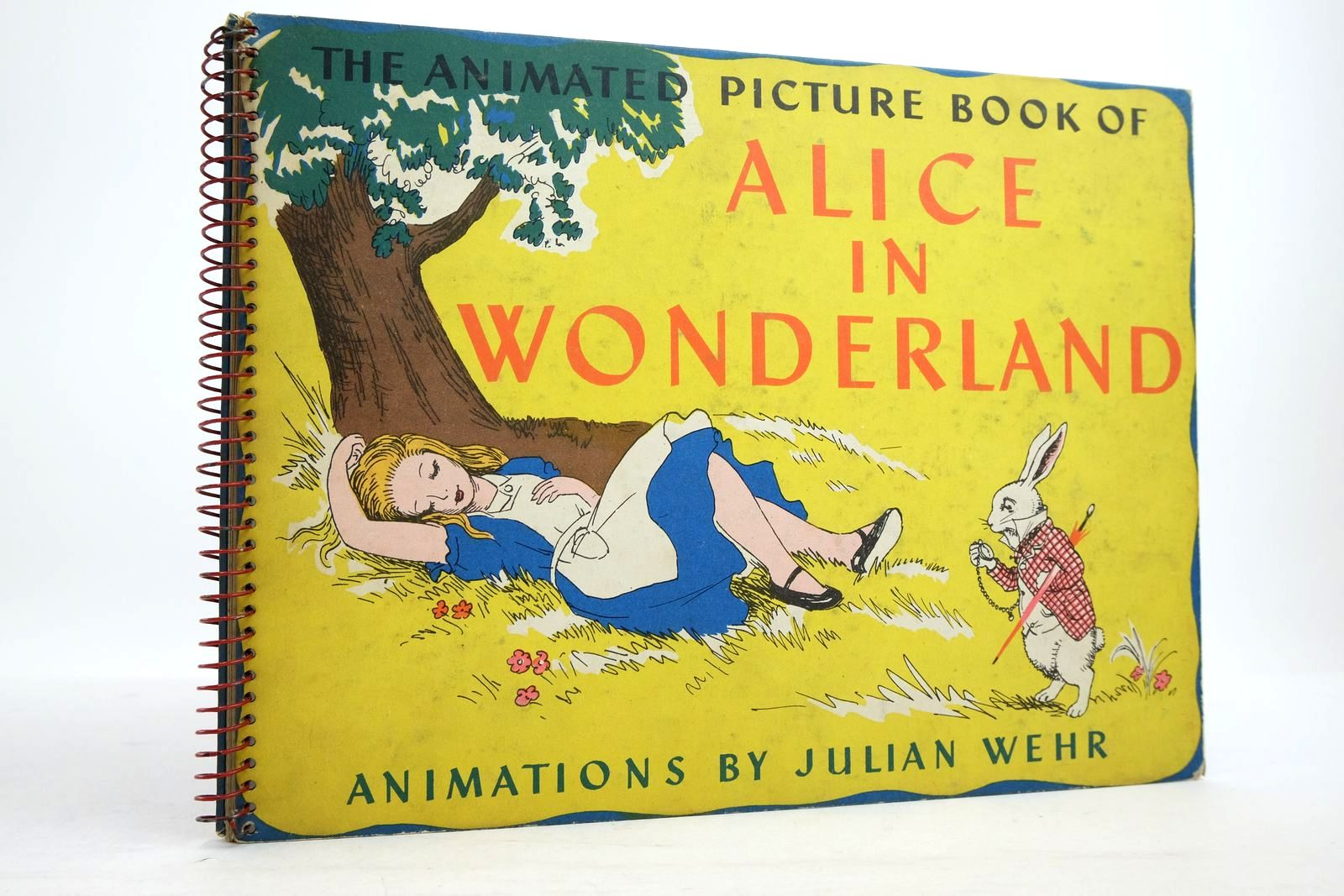 Photo of THE ANIMATED PICTURE BOOK OF ALICE IN WONDERLAND written by Carroll, Lewis illustrated by Wehr, Julian published by The Pilot Press Ltd. (STOCK CODE: 2134710)  for sale by Stella & Rose's Books