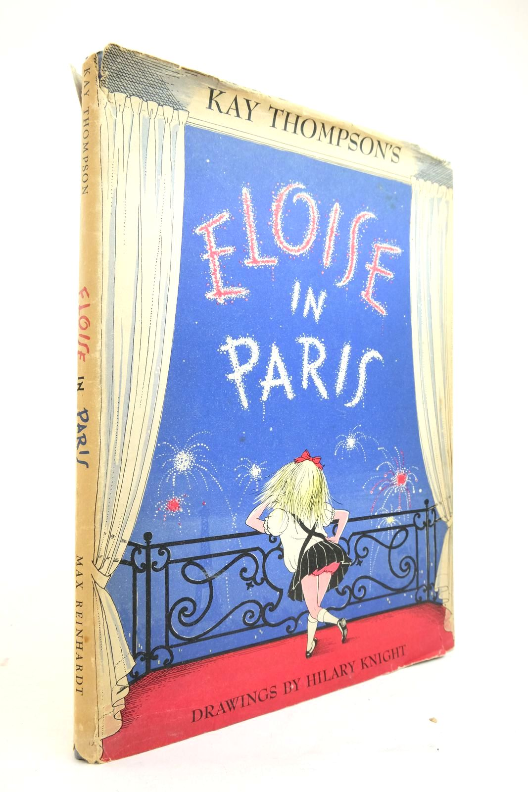 Photo of ELOISE IN PARIS written by Thompson, Kay illustrated by Knight, Hilary published by Max Reinhardt (STOCK CODE: 2134712)  for sale by Stella & Rose's Books