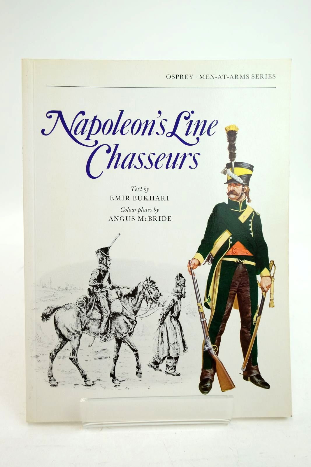 Photo of NAPOLEON'S LINE CHASSEURS (MEN-AT-ARMS) written by Bukhari, Emir illustrated by McBride, Angus published by Osprey Publishing (STOCK CODE: 2134730)  for sale by Stella & Rose's Books