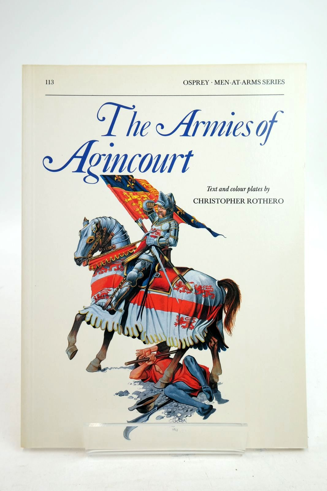 Photo of THE ARMIES OF AGINCOURT (MEN-AT-ARMS) written by Rothero, Christopher illustrated by Rothero, Christopher published by Osprey Publishing (STOCK CODE: 2134735)  for sale by Stella & Rose's Books