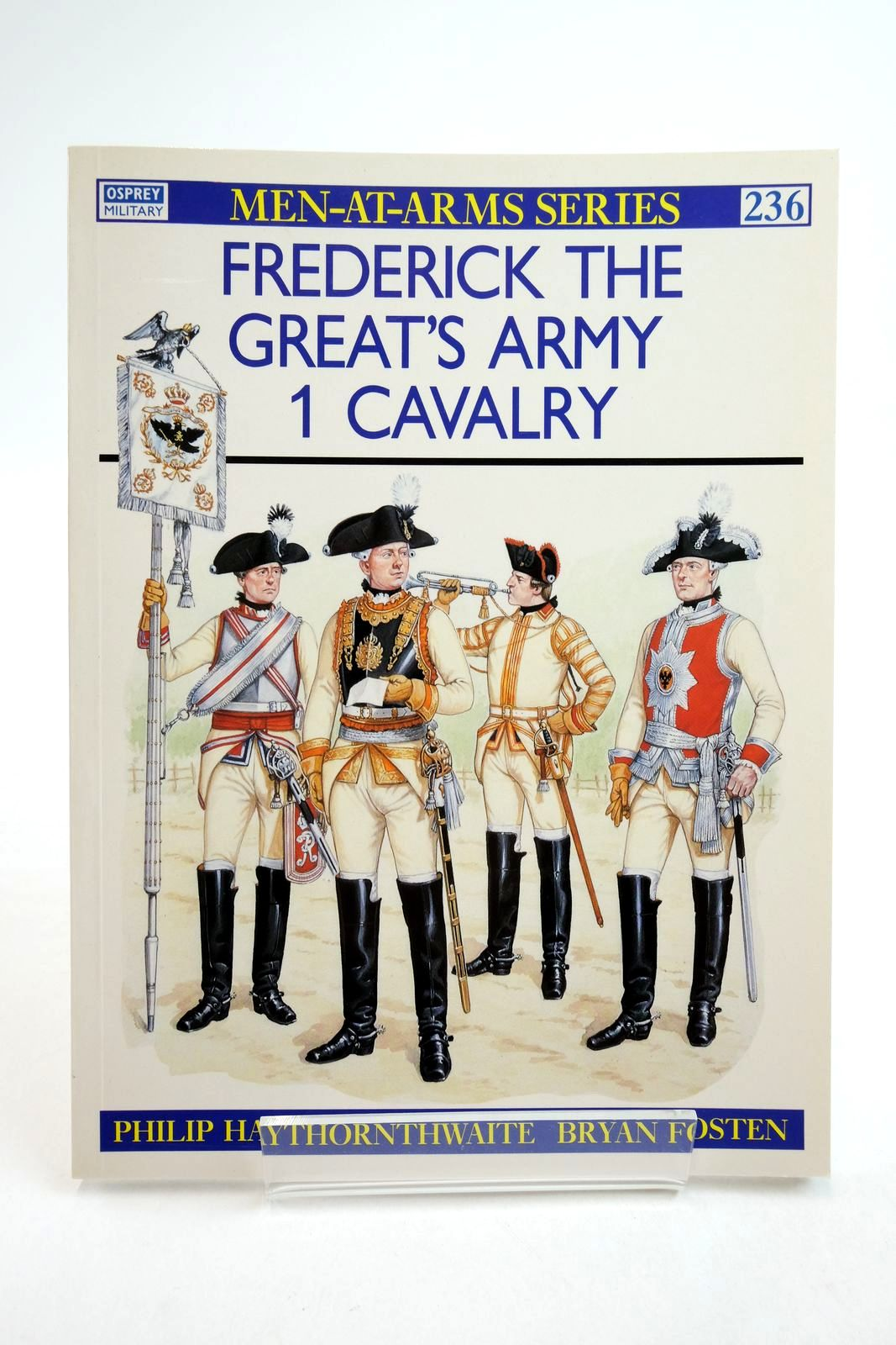 Photo of FREDERICK THE GREAT'S ARMY I CAVALRY (MEN-AT-ARMS) written by Haythornthwaite, Philip illustrated by Fosten, Bryan published by Osprey Publishing (STOCK CODE: 2134739)  for sale by Stella & Rose's Books