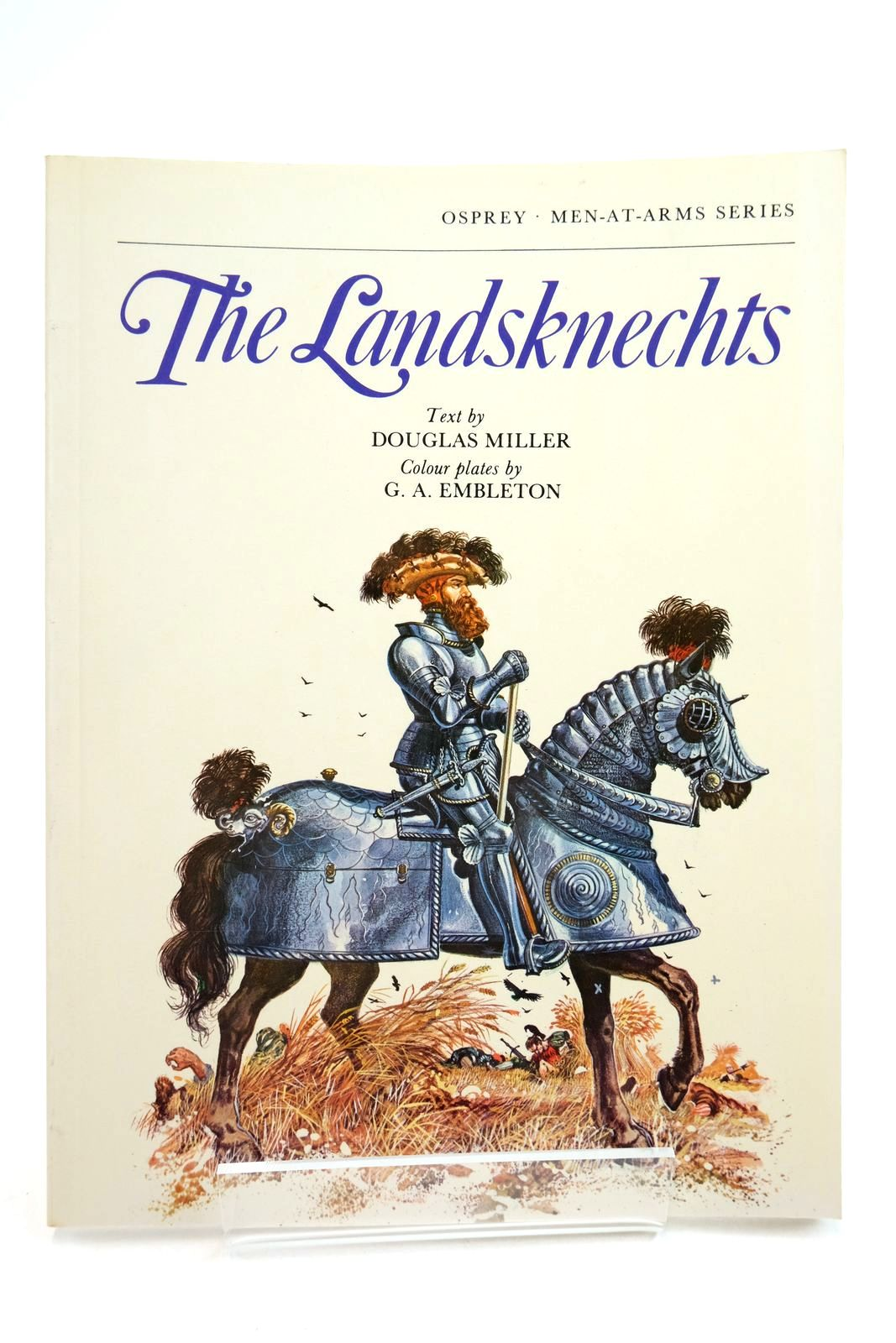 Photo of THE LANDSKNECHTS (MEN-AT-ARMS) written by Miller, Douglas illustrated by Embleton, G.A. published by Osprey Publishing (STOCK CODE: 2134741)  for sale by Stella & Rose's Books