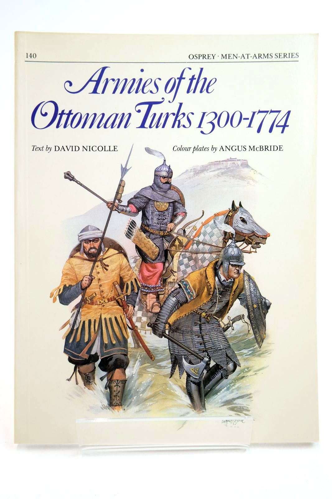 Photo of ARMIES OF THE OTTOMAN TURKS 1300-1774 (MEN-AT-ARMS)- Stock Number: 2134742