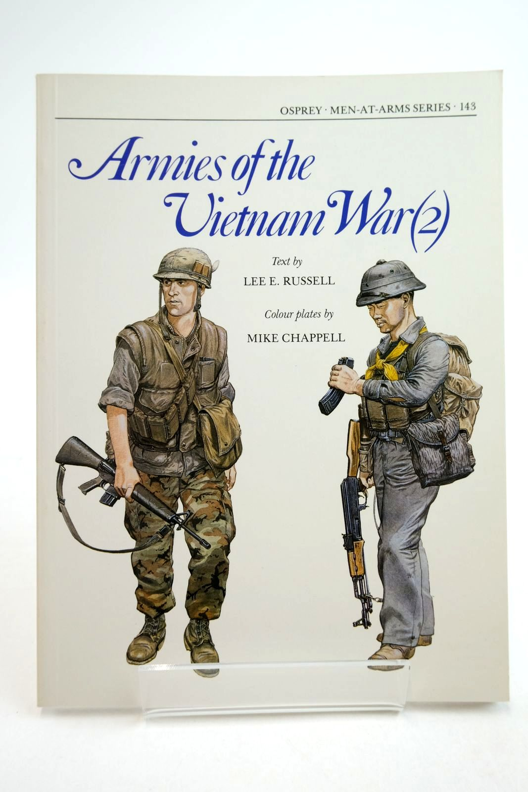 Photo of ARMIES OF THE VIETNAM WAR (2) written by Russell, Lee E. illustrated by Chappell, Mike published by Osprey Publishing (STOCK CODE: 2134743)  for sale by Stella & Rose's Books