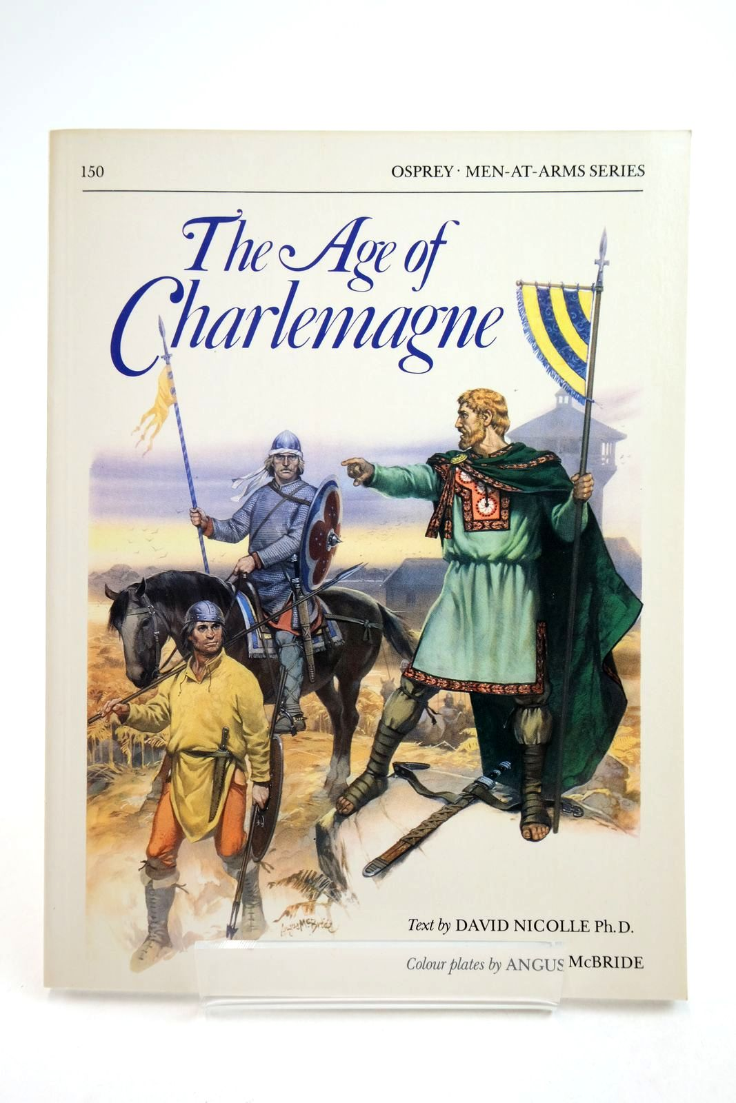 Photo of THE AGE OF CHARLEMAGNE (MEN-AT-ARMS) written by Nicolle, David illustrated by McBride, Angus published by Osprey Publishing (STOCK CODE: 2134745)  for sale by Stella & Rose's Books