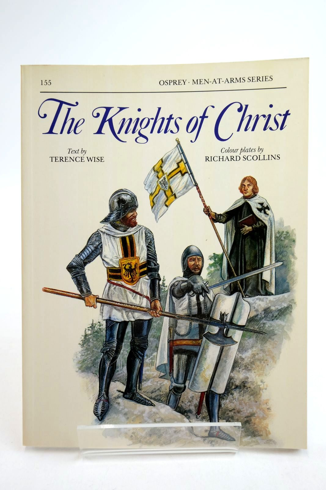 Photo of THE KNIGHTS OF CHRIST (MEN-AT-ARMS) written by Wise, Terence illustrated by Scollins, Richard published by Osprey Publishing (STOCK CODE: 2134747)  for sale by Stella & Rose's Books