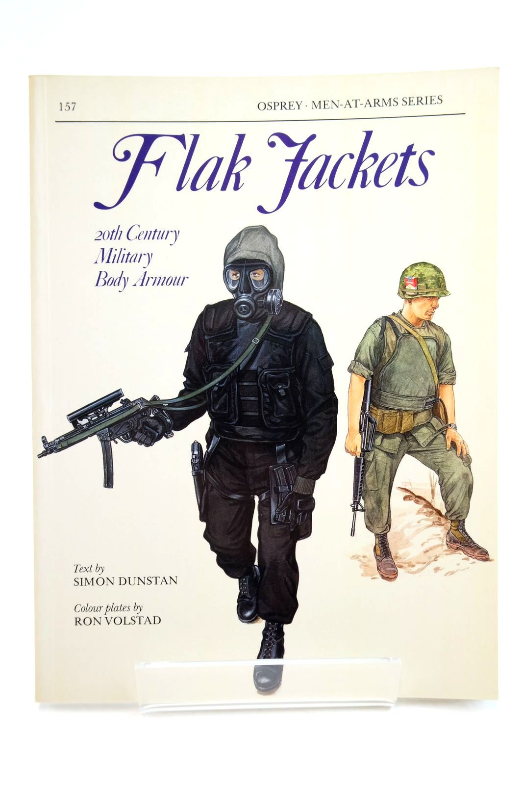 Photo of FLAK JACKETS: 20TH CENTURY MILITARY BODY ARMOUR (MEN-AT-ARMS) written by Dunstan, Simon illustrated by Volstad, Ron published by Osprey Publishing (STOCK CODE: 2134748)  for sale by Stella & Rose's Books