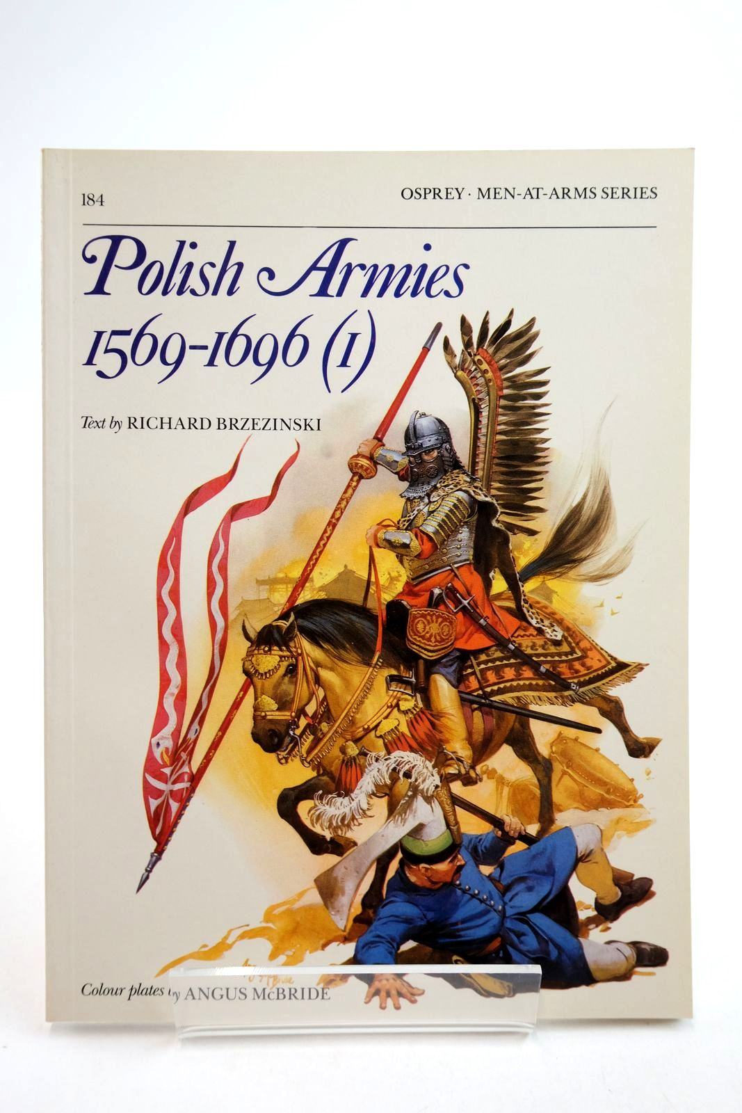 Photo of POLISH ARMIES 1569-1696 (1) (MEN-AT-ARMS) written by Brzezinski, Richard illustrated by McBride, Angus published by Osprey Publishing (STOCK CODE: 2134753)  for sale by Stella & Rose's Books