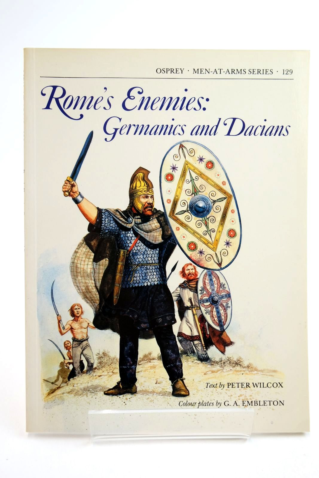 Photo of ROME'S ENEMIES: GERMANICS AND DACIANS (MEN-AT-ARMS) written by Wilcox, Peter illustrated by Embleton, G.A. published by Osprey Publishing (STOCK CODE: 2134757)  for sale by Stella & Rose's Books